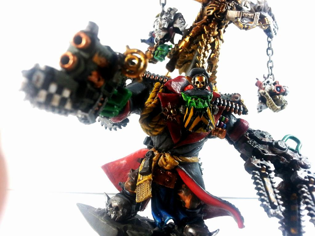Blood Axe, Boss Pole, Clan, Commissar, Greatcoat, Kommizzar, Leader, Mercenary, Necron Overlord, Necrons, Ork Banner, Orks, Power Klaw, Warboss, Warlord