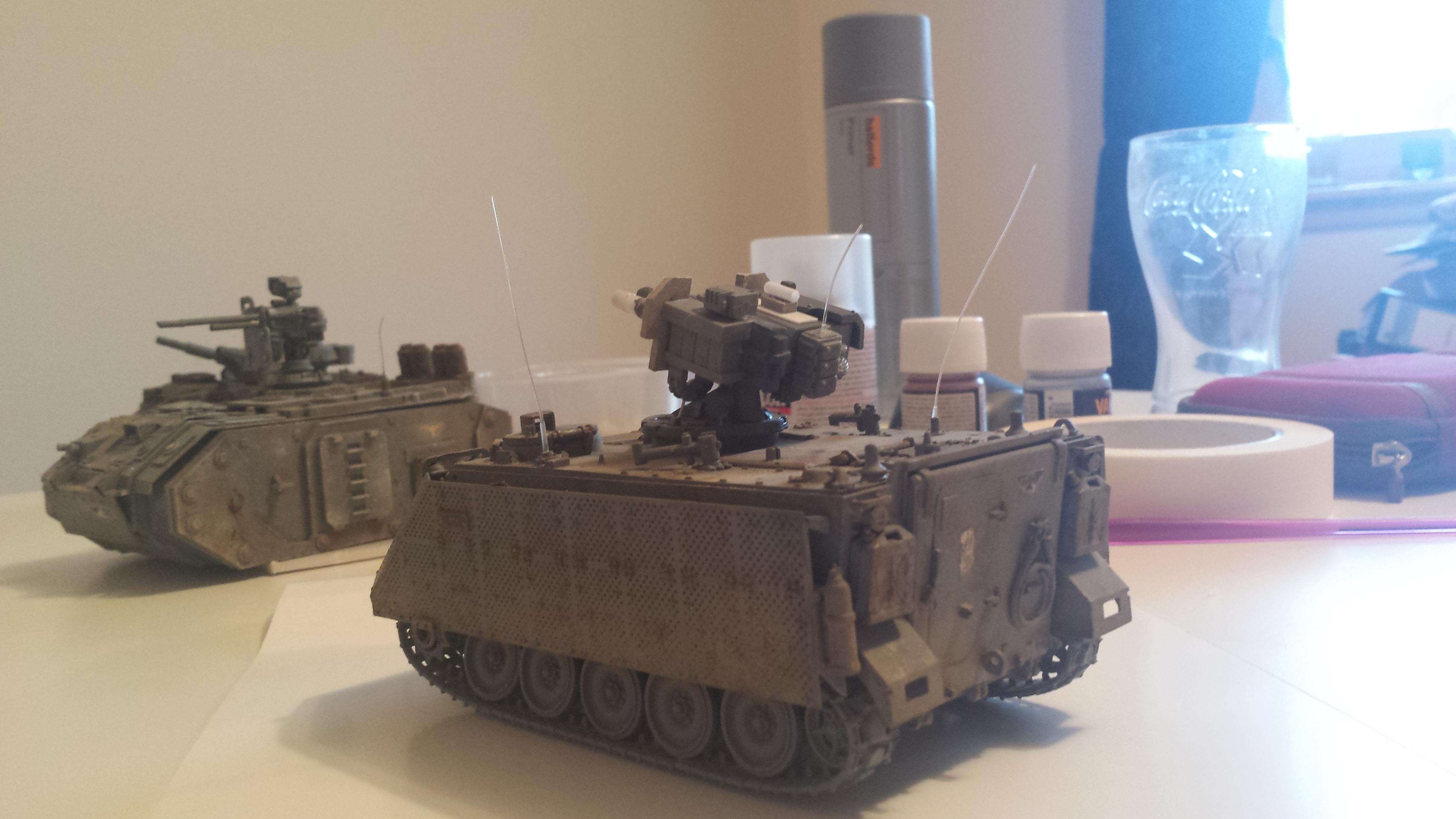 Autogun, Chimera, Dusty, Imperial Guard, Tank
