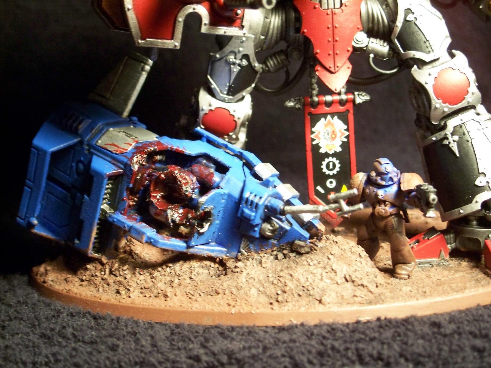 Knight Titan, Last Stand, Mechanicus, Taranis