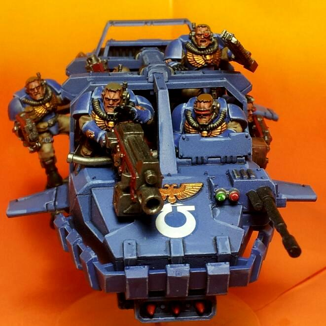 Land Speeder, Land Speeder Storm, Scouts, Skimmer, Space Marines, Transport, Ultramarines, Warhammer 40,000