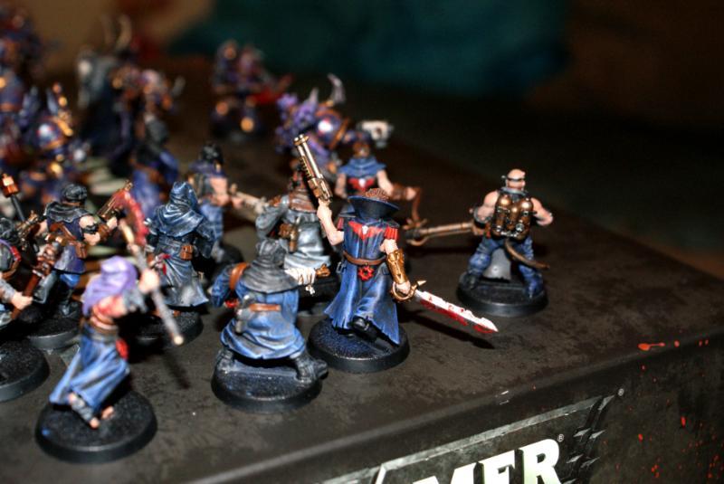 Champion, Chaos Land Raider, Chaos Space Marines, Night Lords, Warhammer 40,000