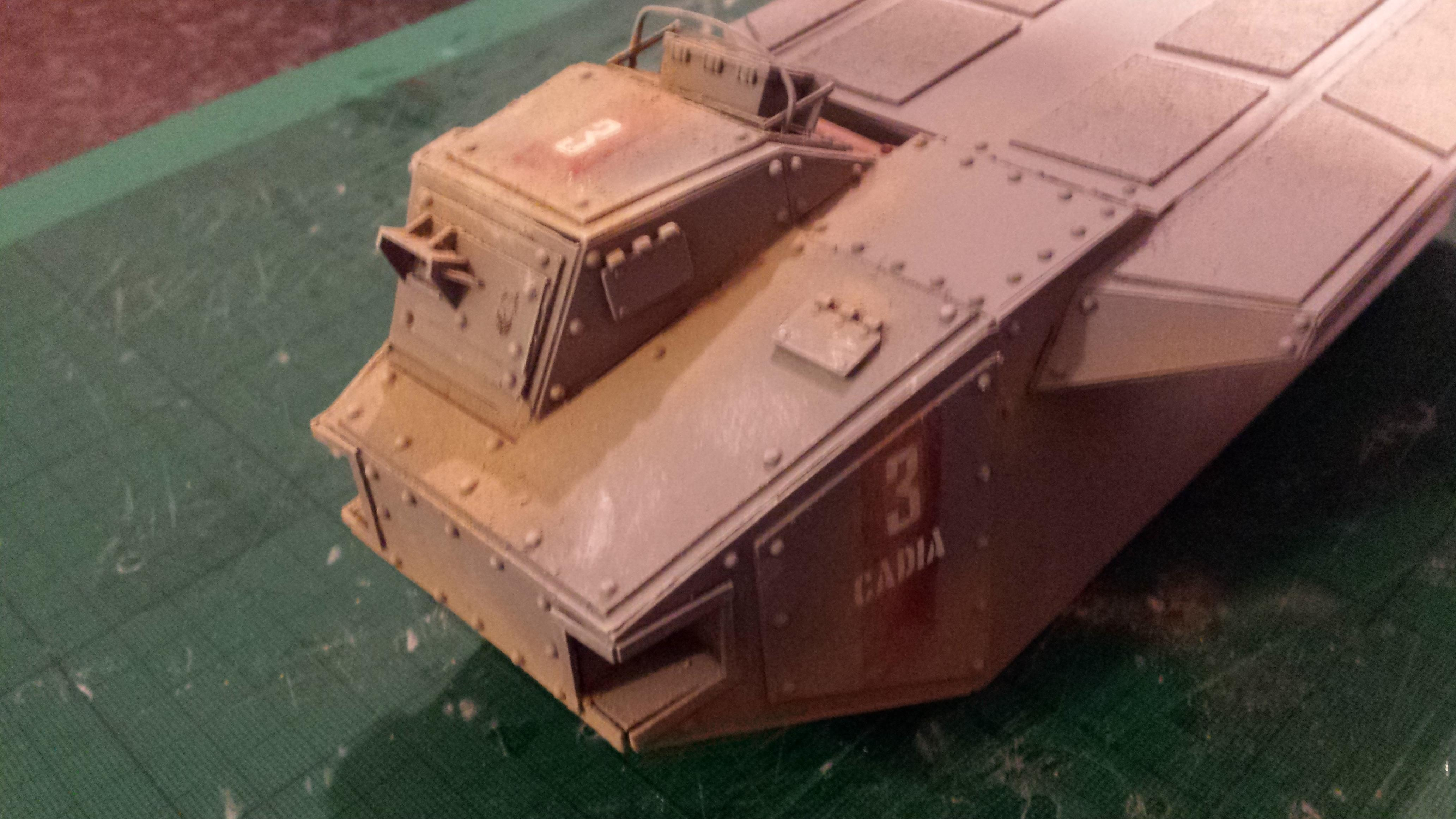 Crassus Armoured Assault, Imperial Guard, Troop Carrier