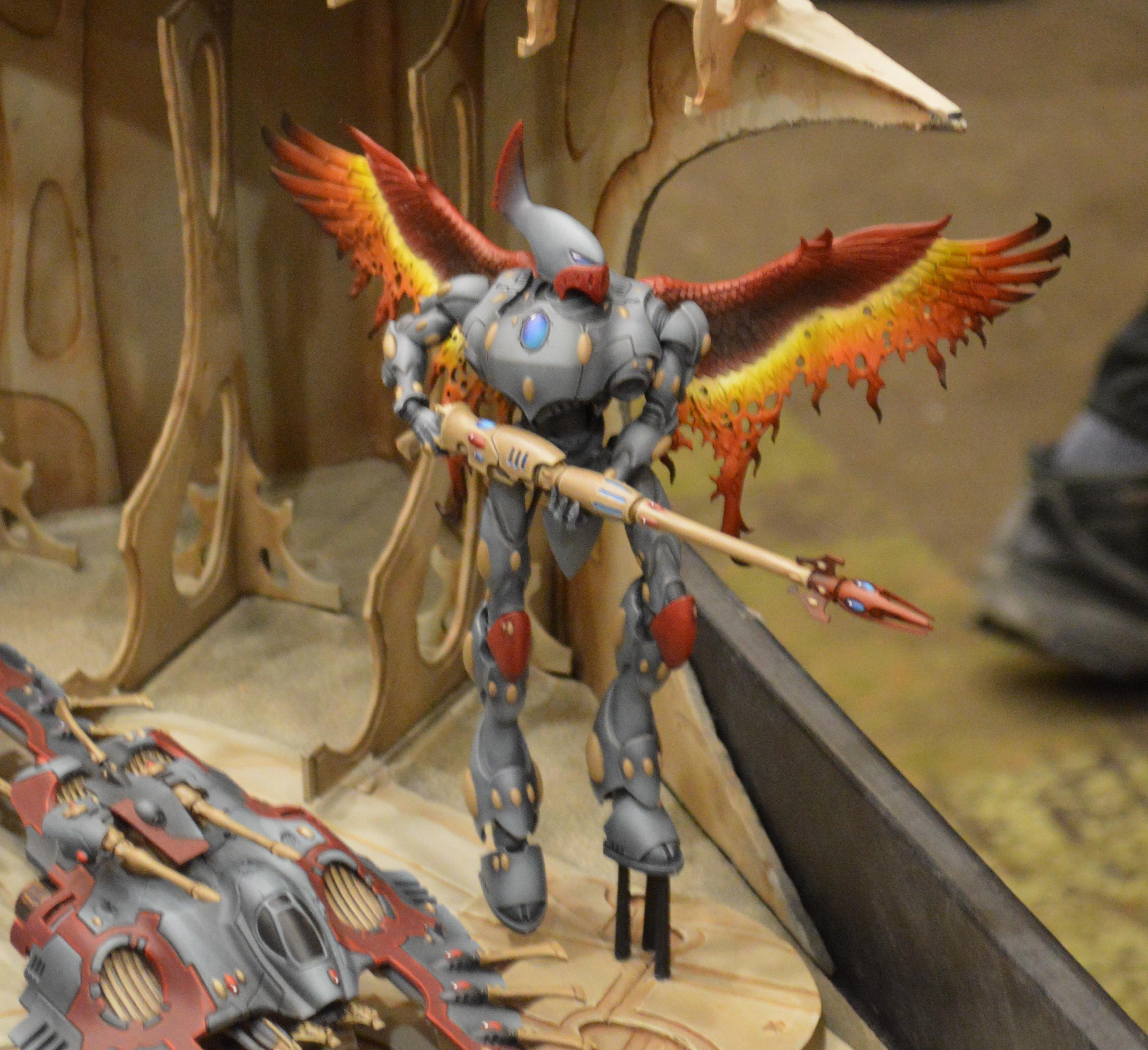 Adepticon 2014, Conversion, Eldar, Phoenix, Wraithknight