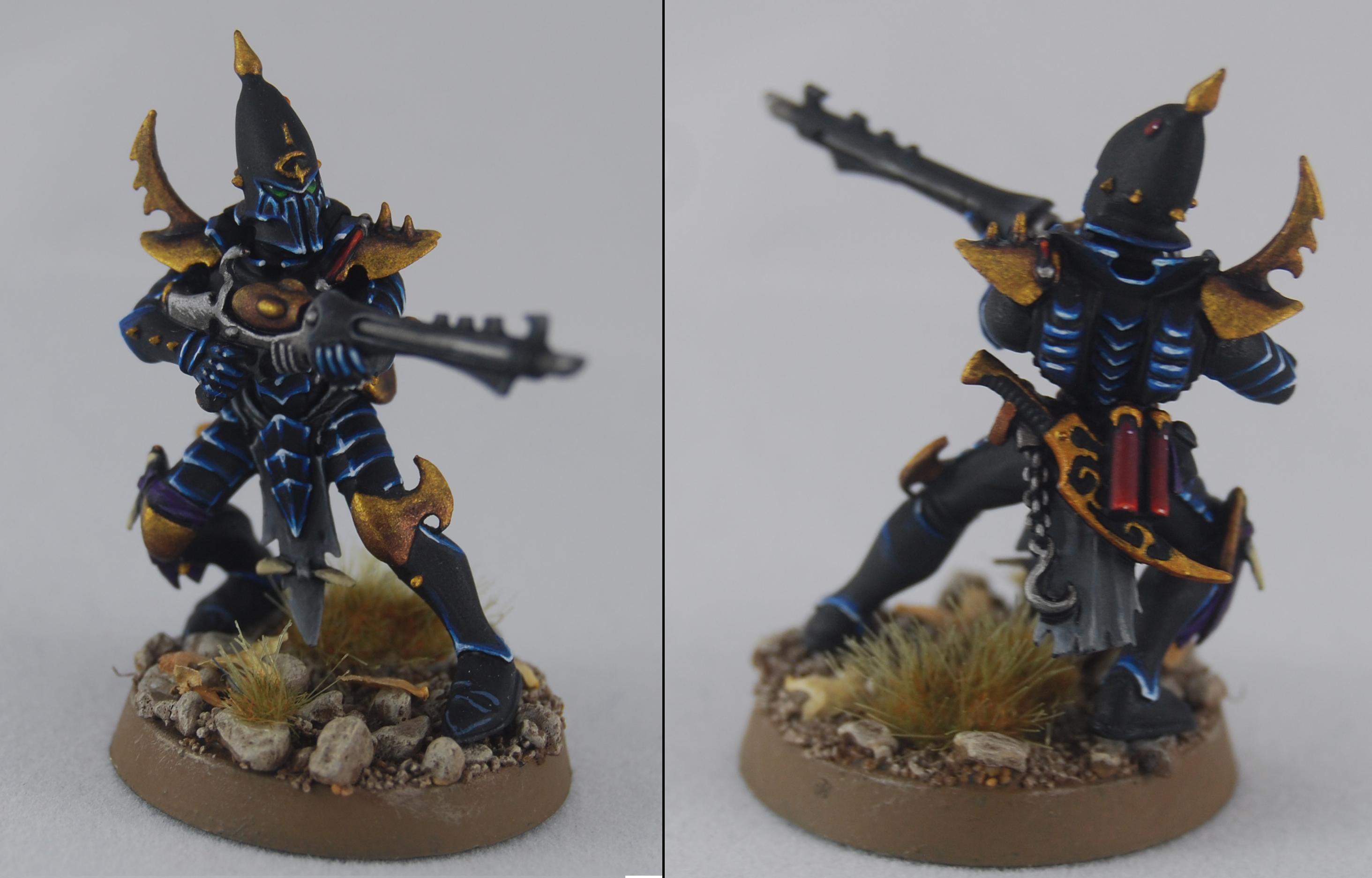 Dark Eldar, Drukhari, Kabalite Warrior, Warhammer 40,000