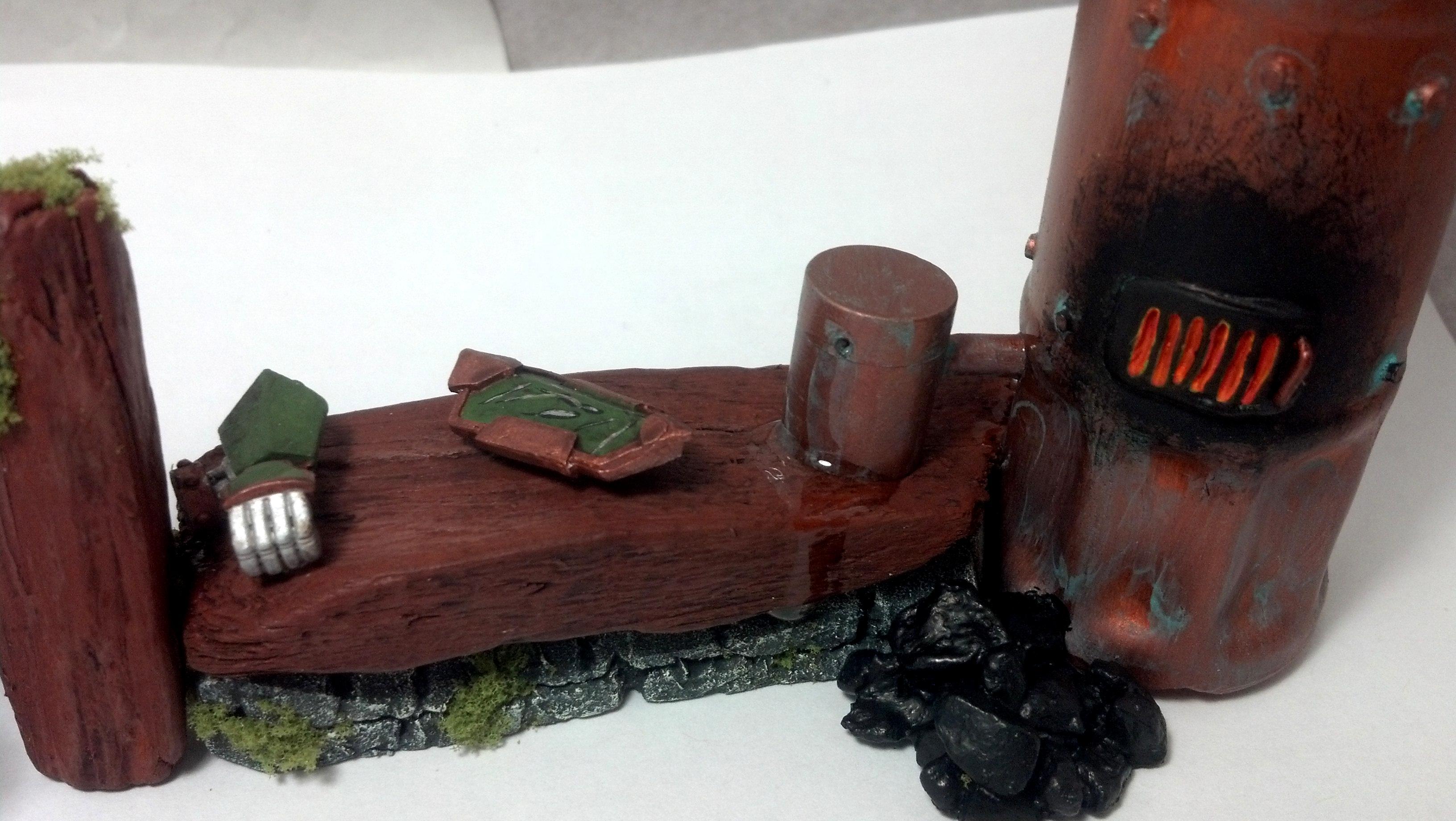 Finished Bench/Boiler