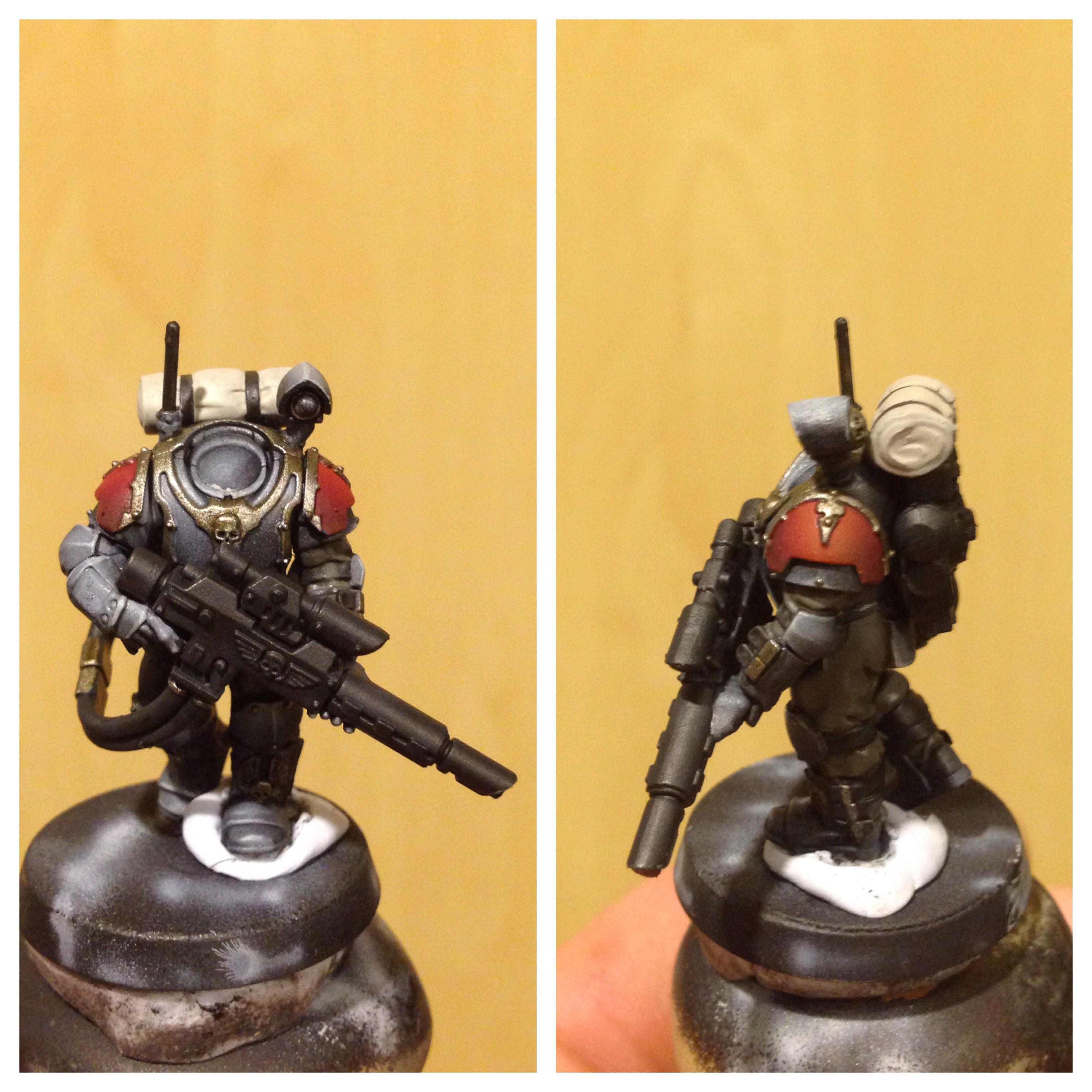 Imperial Guard, Scions, Work In Progress