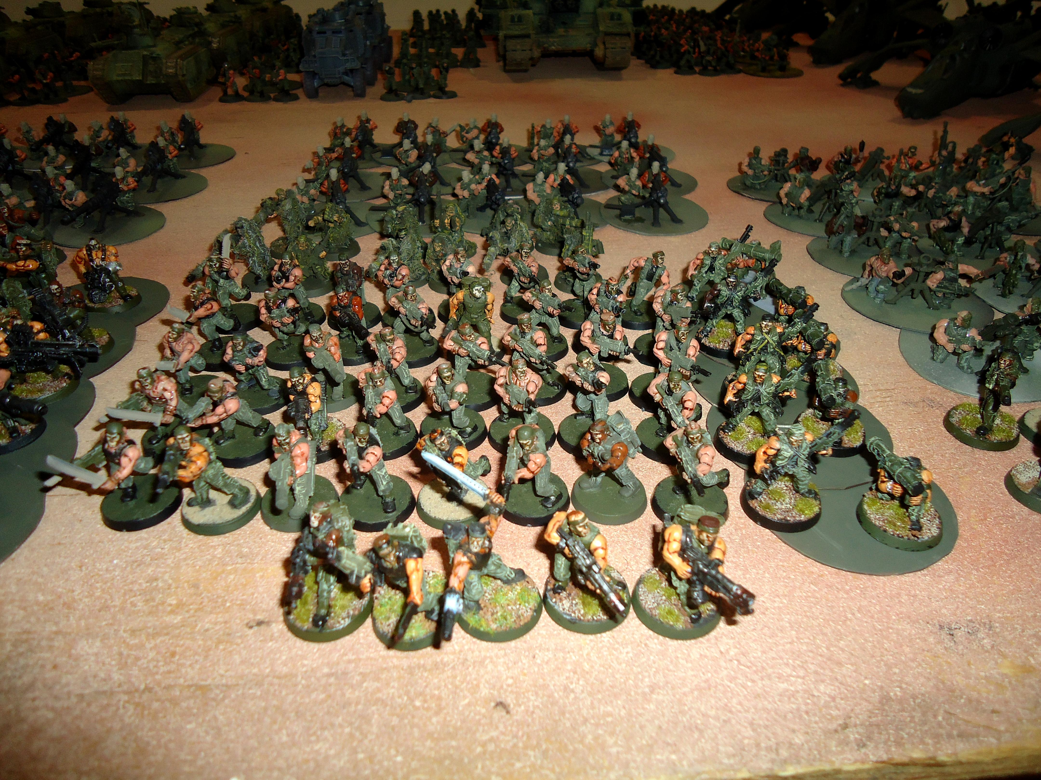 Apocalypse, Astra Militarum, Guard, I.g., Infantry