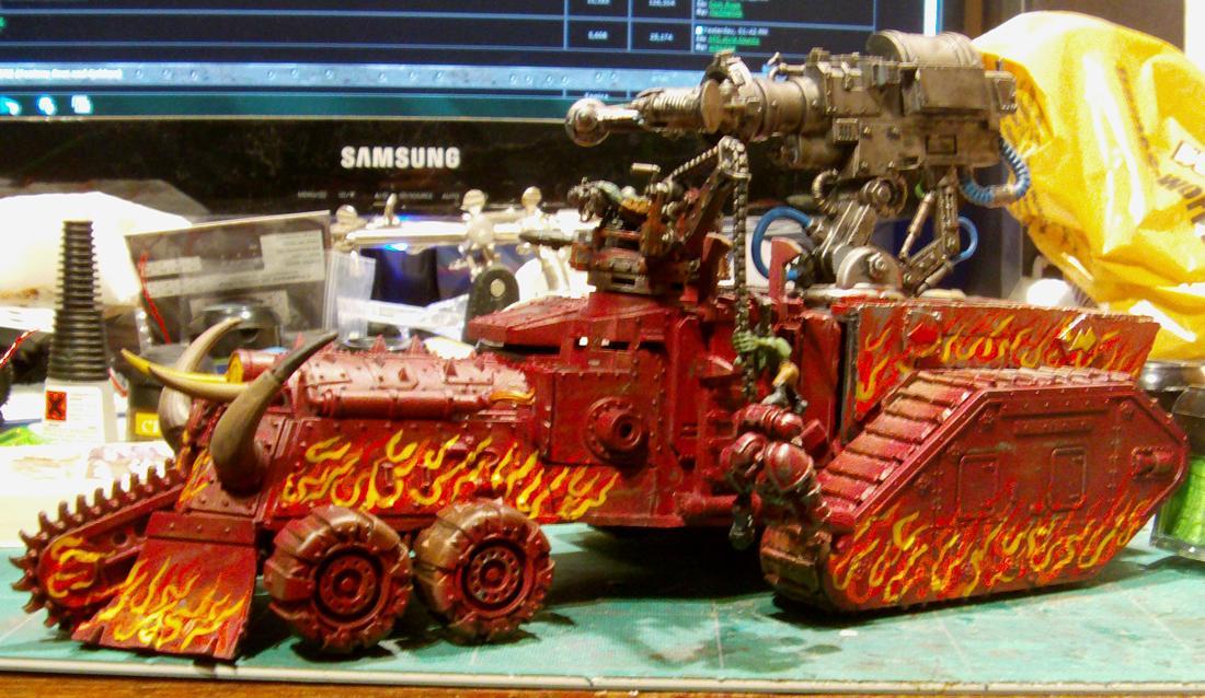 Battlewagon, Conversion, Looted Wagon, Wrecking Ball