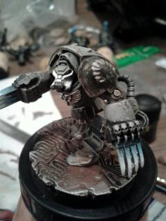 Carcharodon, Carcharodons, Lightning Claws, Space Marines, Terminator Armor, Warhammer 40,000