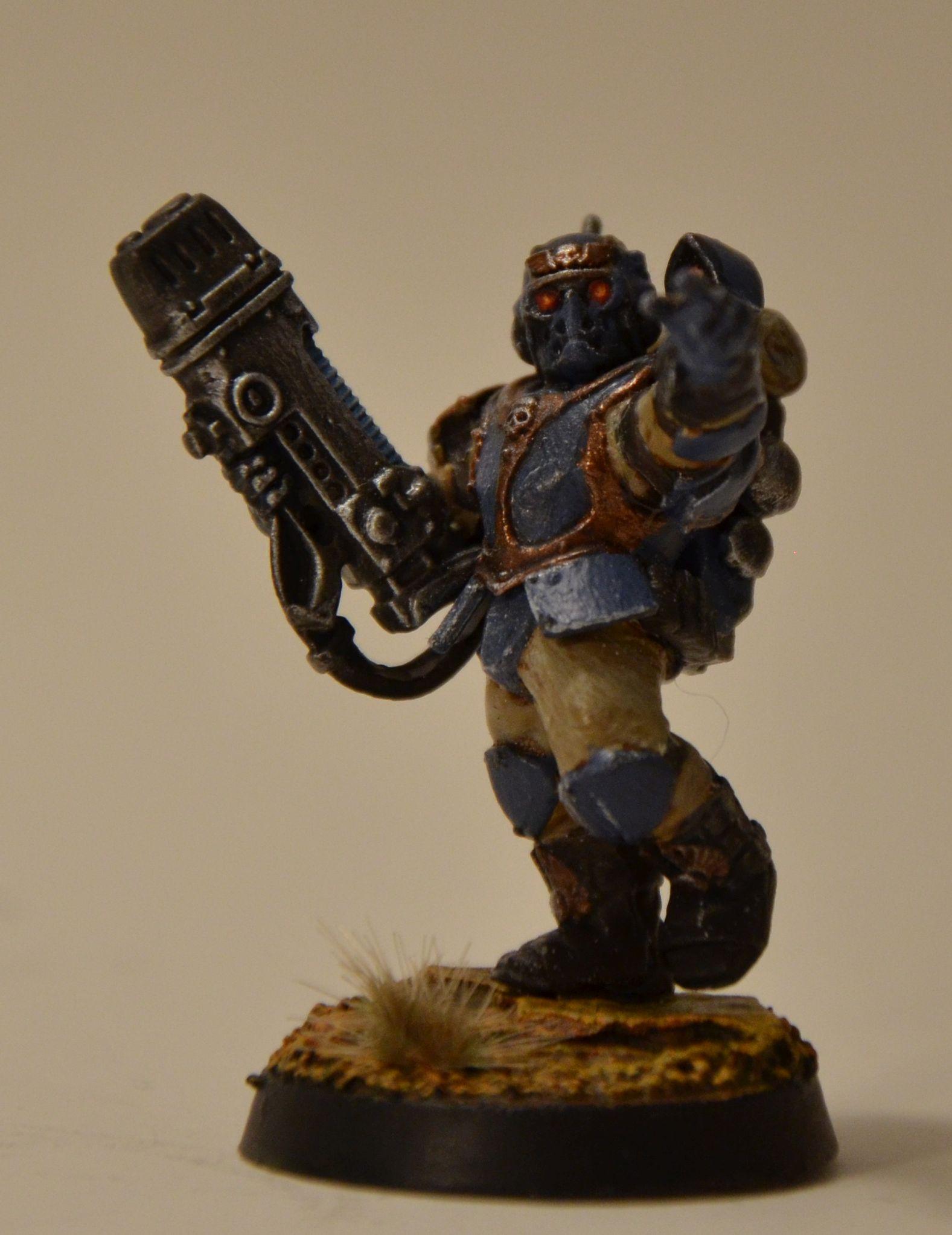 Militarum Tempestus, Scions, Warhammer 40,000