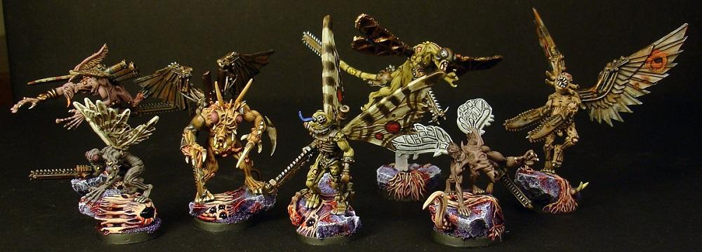 Chaos, Mutant, Nurgle, Raptors