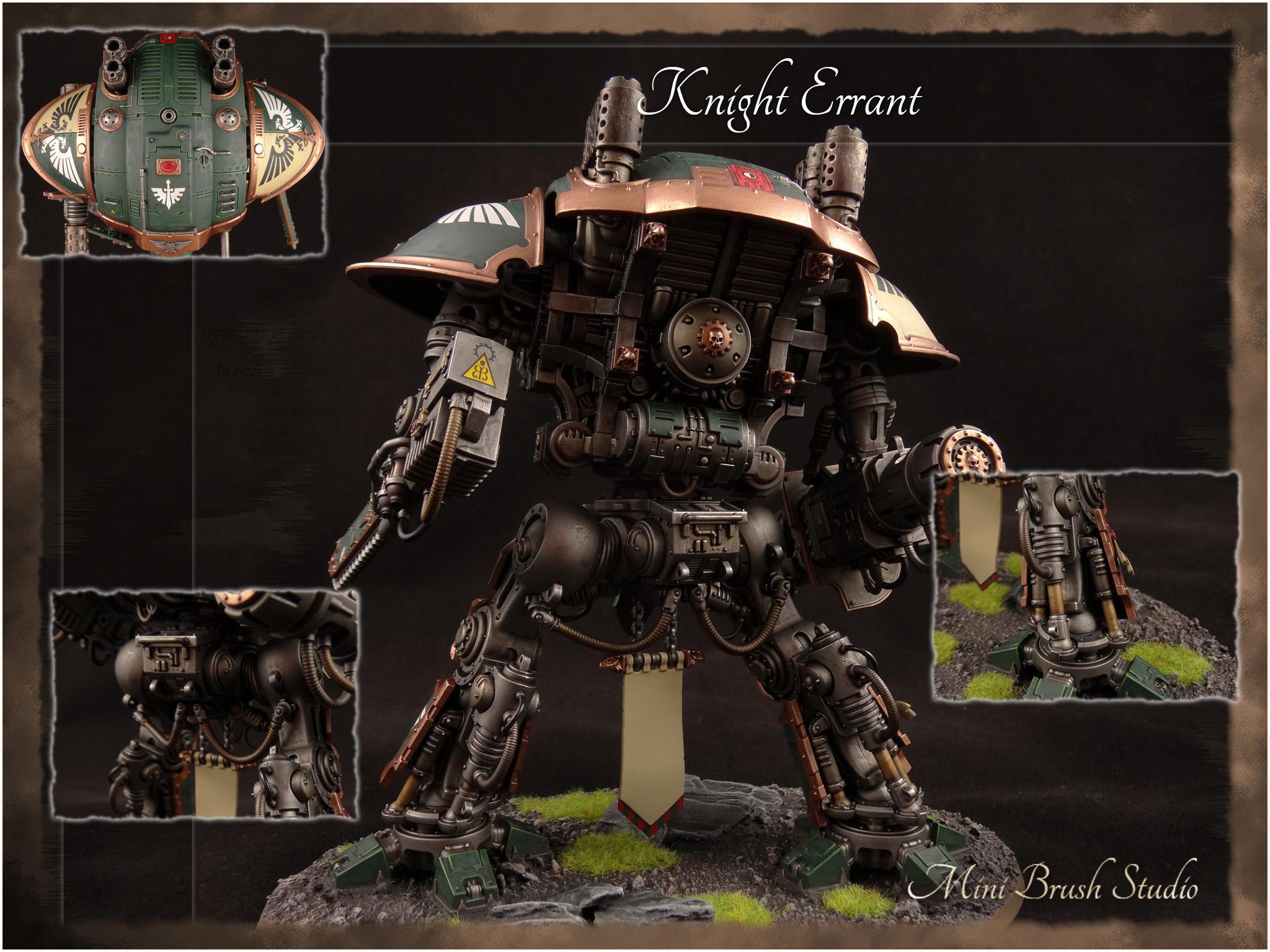 Imperial Knights, Knight Errant, Warhammer 40,000