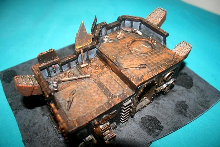 Bad Moons, Bunker, Gi, Heavy, Looted, Orks, Wall Of Martyrs