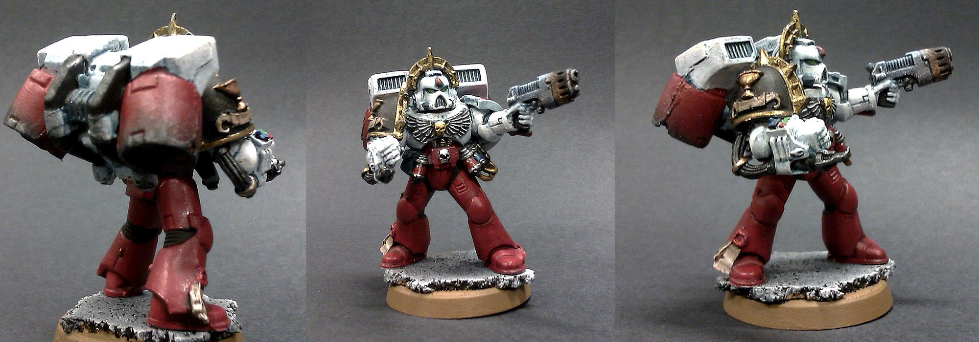 Apothecary, Blood Angels, Jump Pack, Sanguinary Priest