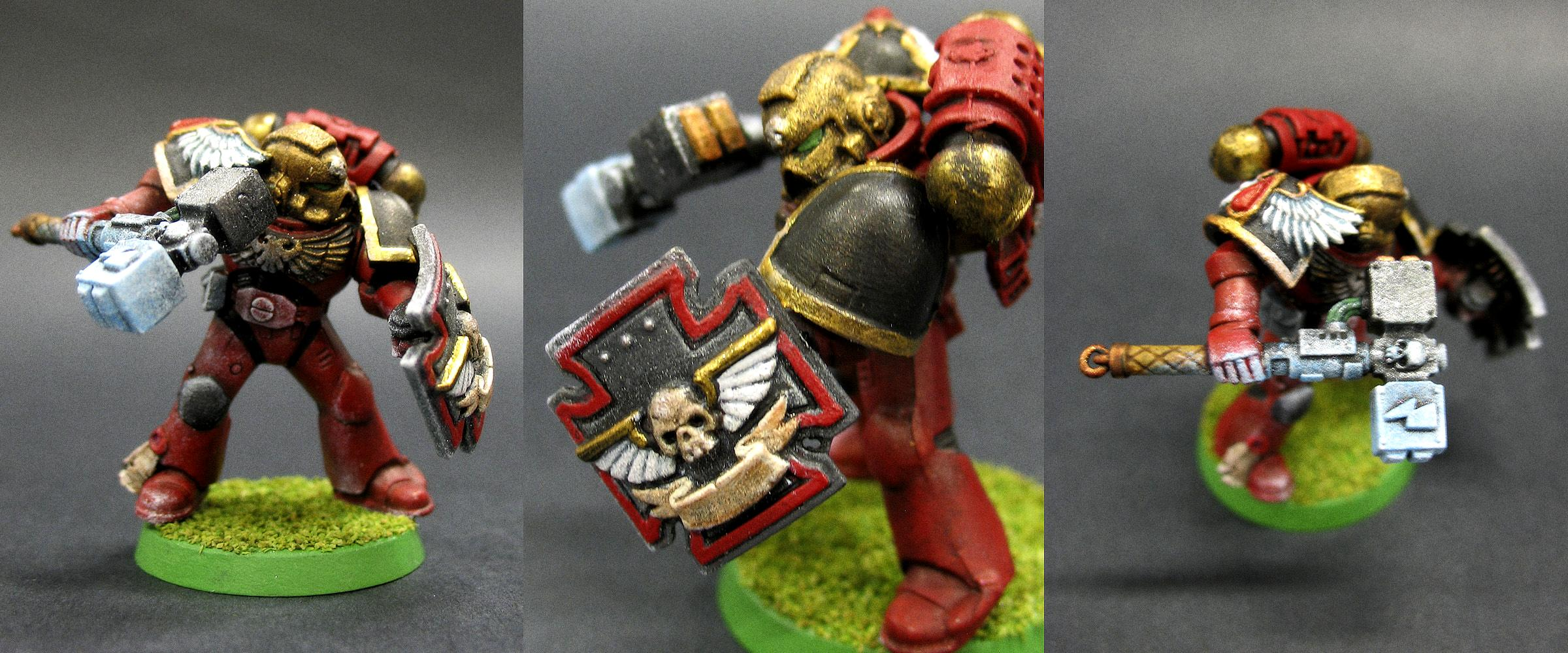 Blood Angels, Honor Guard, Storm Shield, Thunder Hammer
