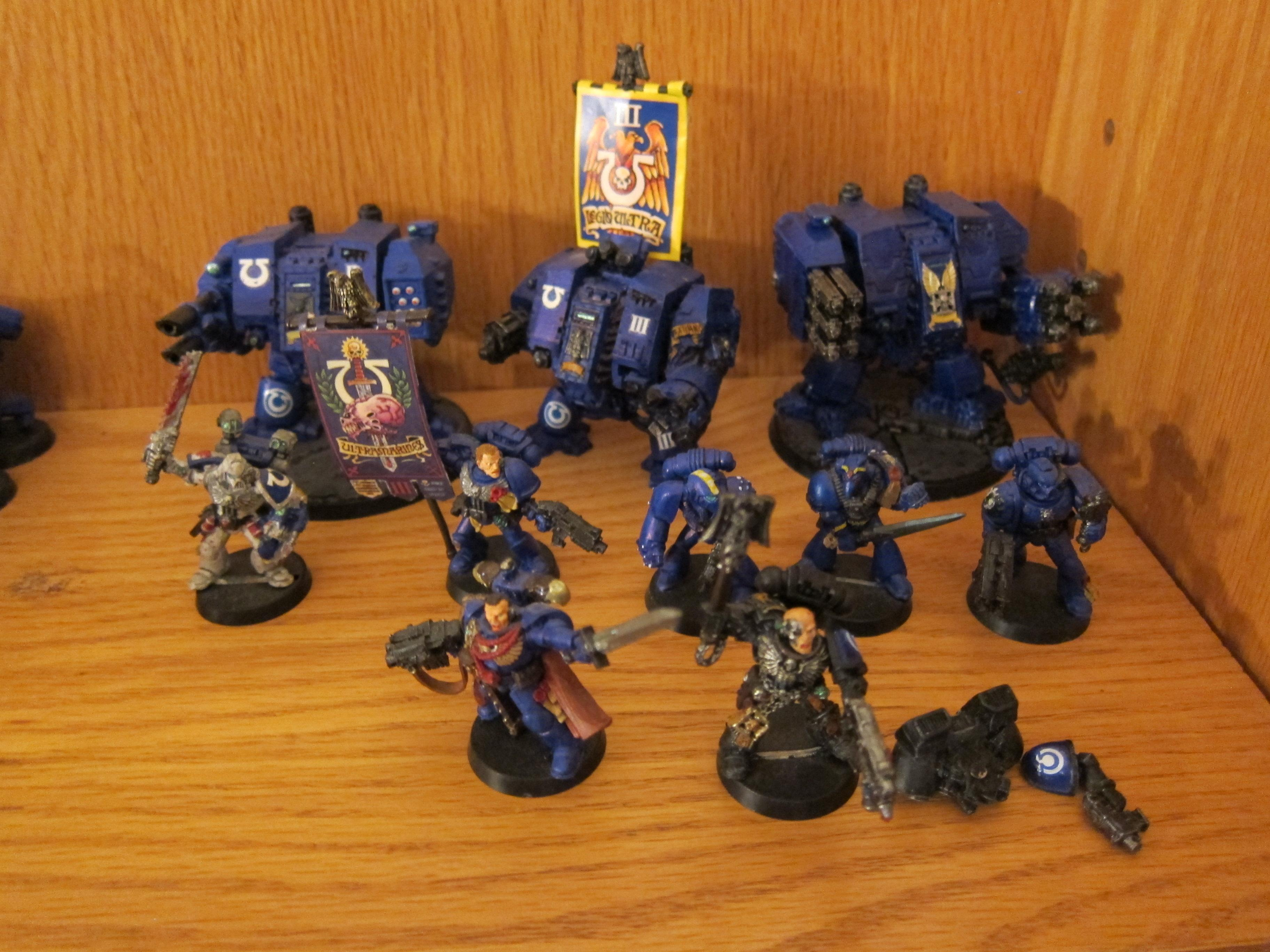 Ultramarines, Command and Dreads