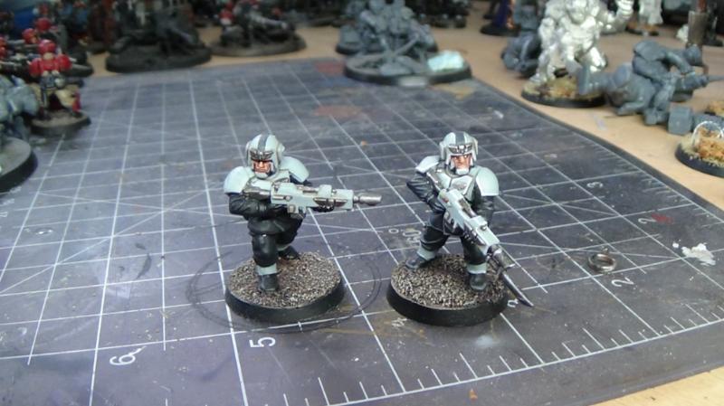 Astra Militarum, Imperial Guard, Infantry