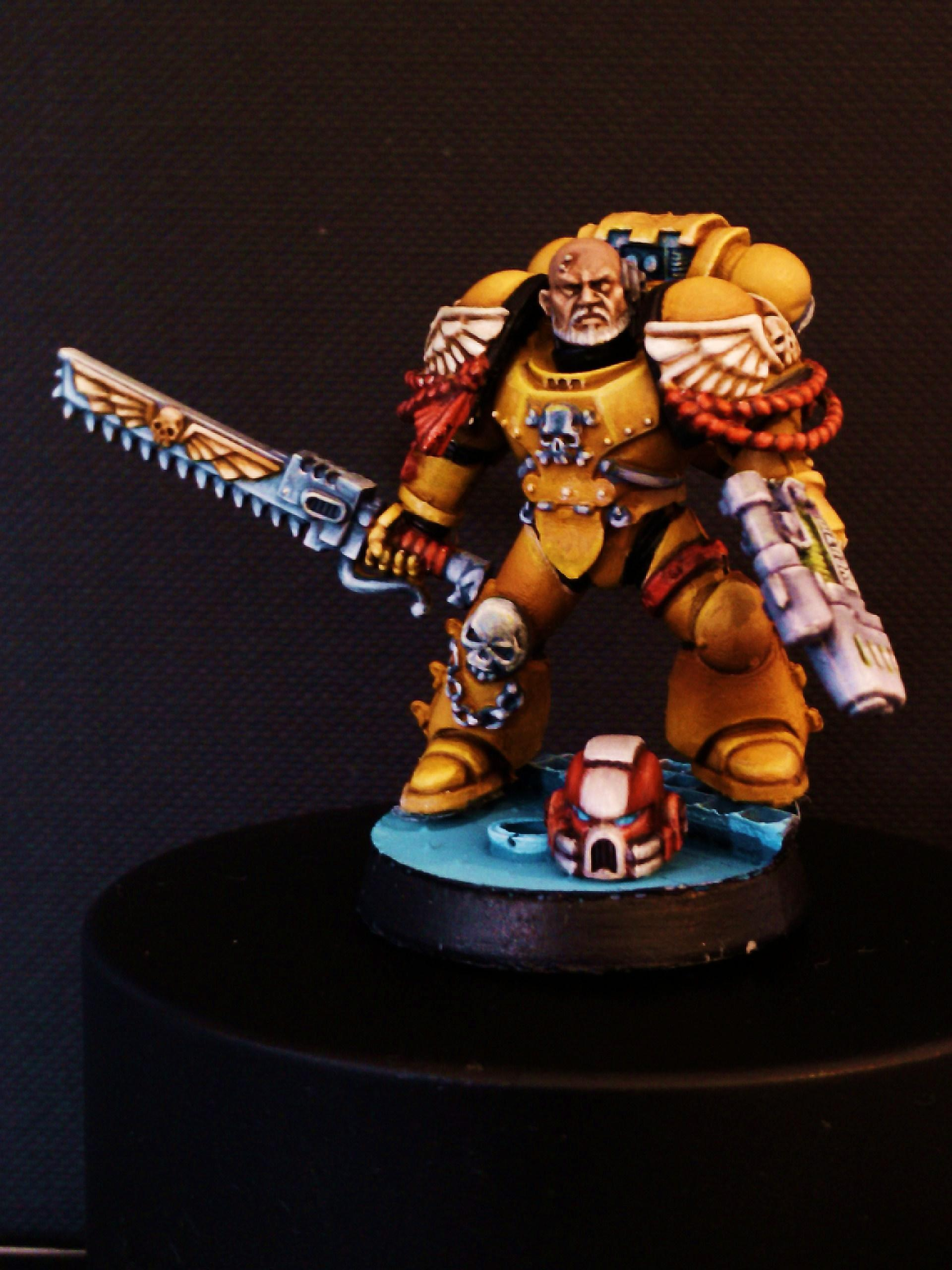 Imperial Fists, Imperial Fists Sergeant, Space Marines