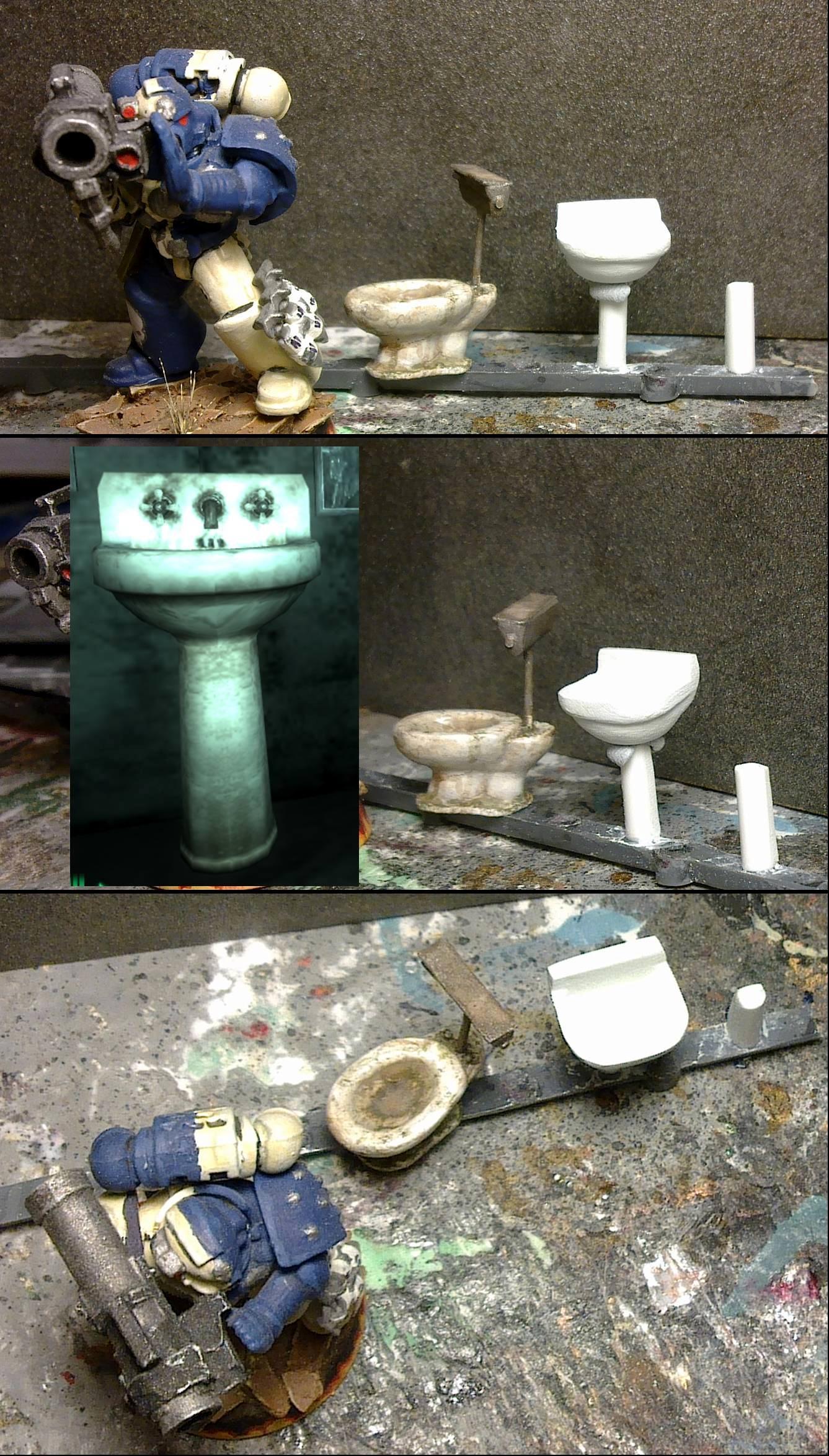 Sink in progress 3