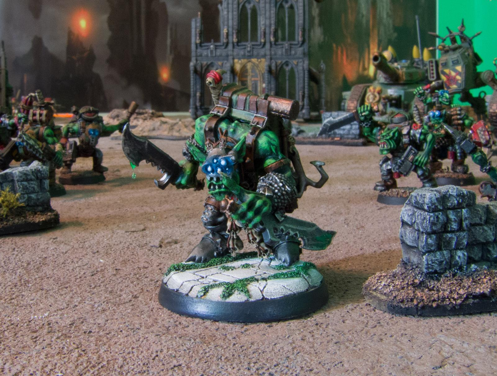 Blood Axe, Commando, Kommando, Nob, Orks, Ouze, Snikrot, Warhammer 40,000