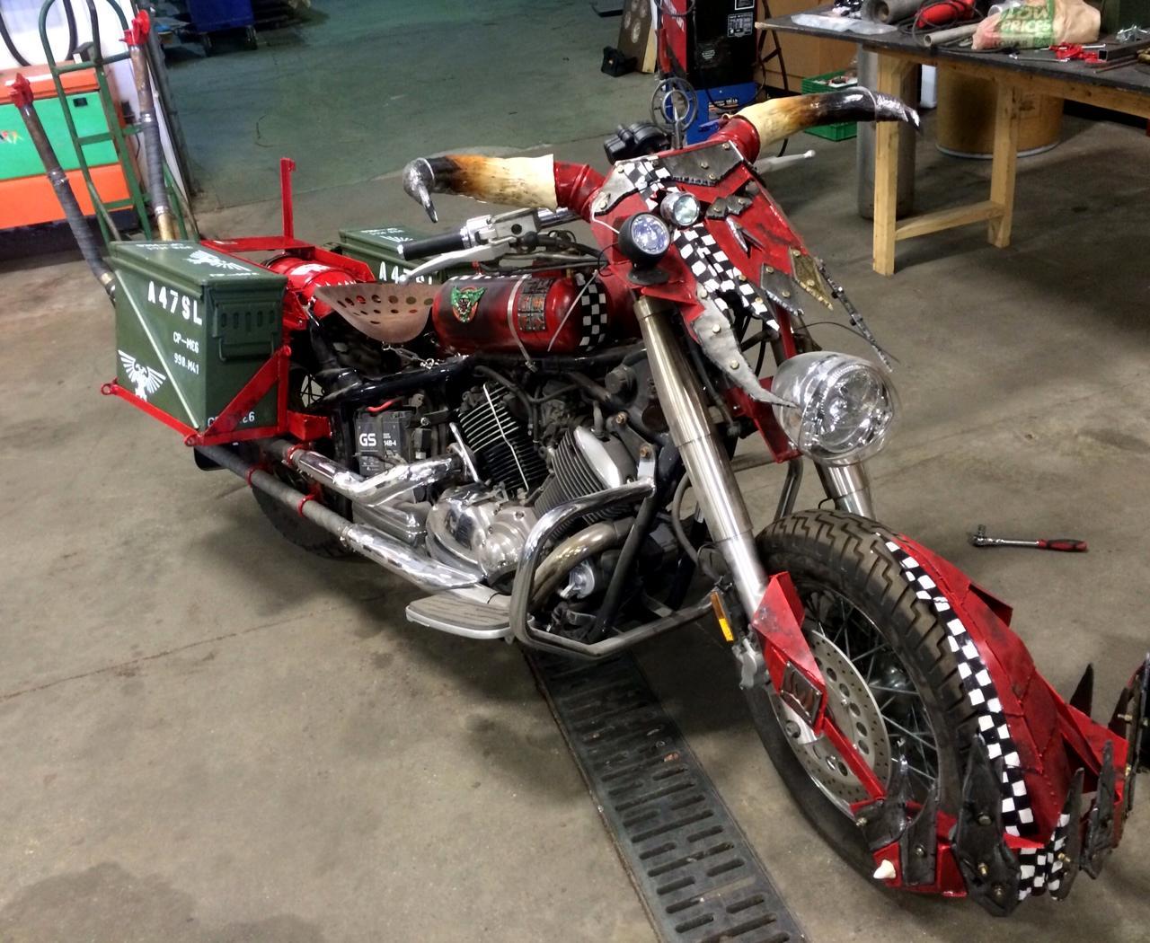 Ork Bike, Real, Warbike