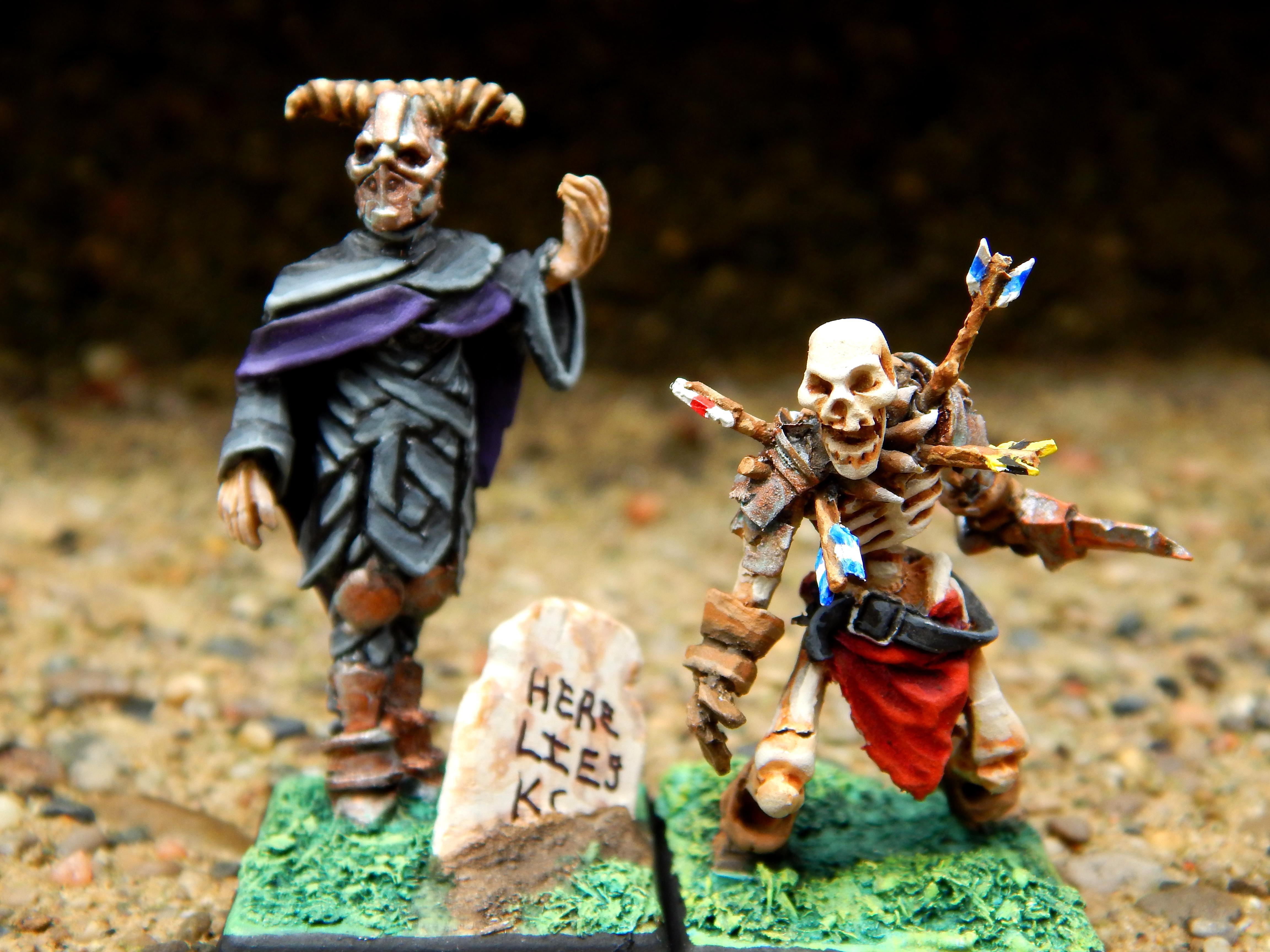 Dark Priest and Warrior