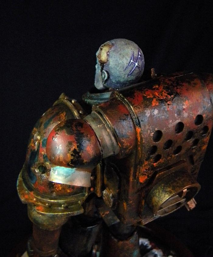Awesome, Bust, Large Scale, Space Marines, Zombie