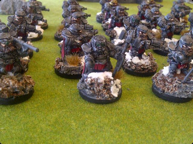 Army, Dwarves, Forge Fathers, Mantic Games, Snow, Snow Bases, Squats, Warpath