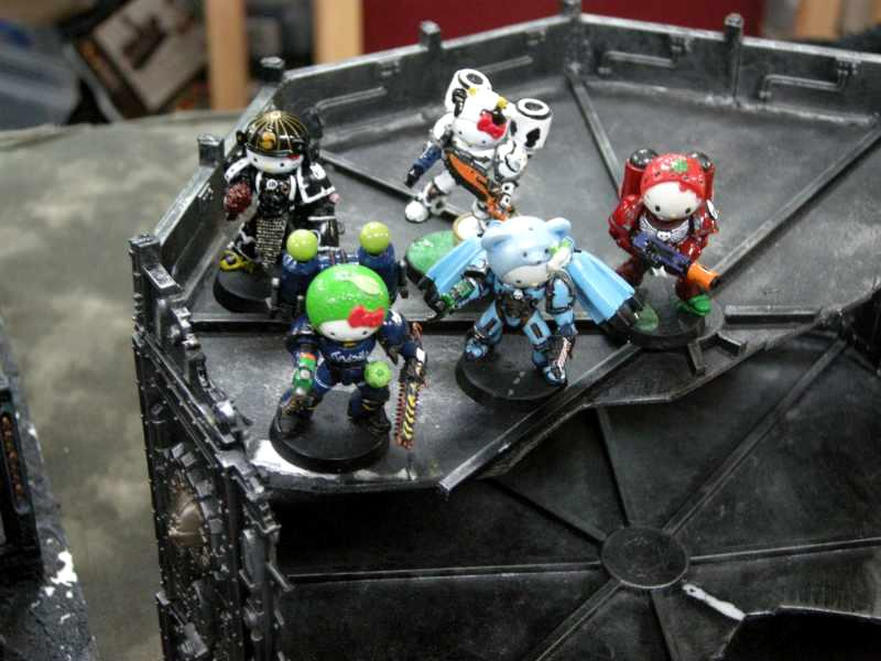 Chaos, Hello Kitty, Space Marines