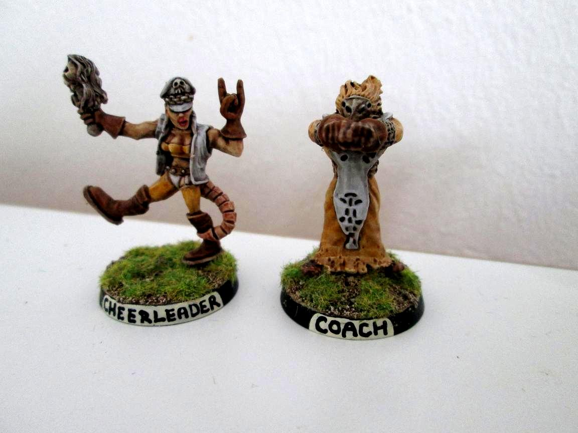 Blood Bowl, Chaos, Cheerleader, Coach