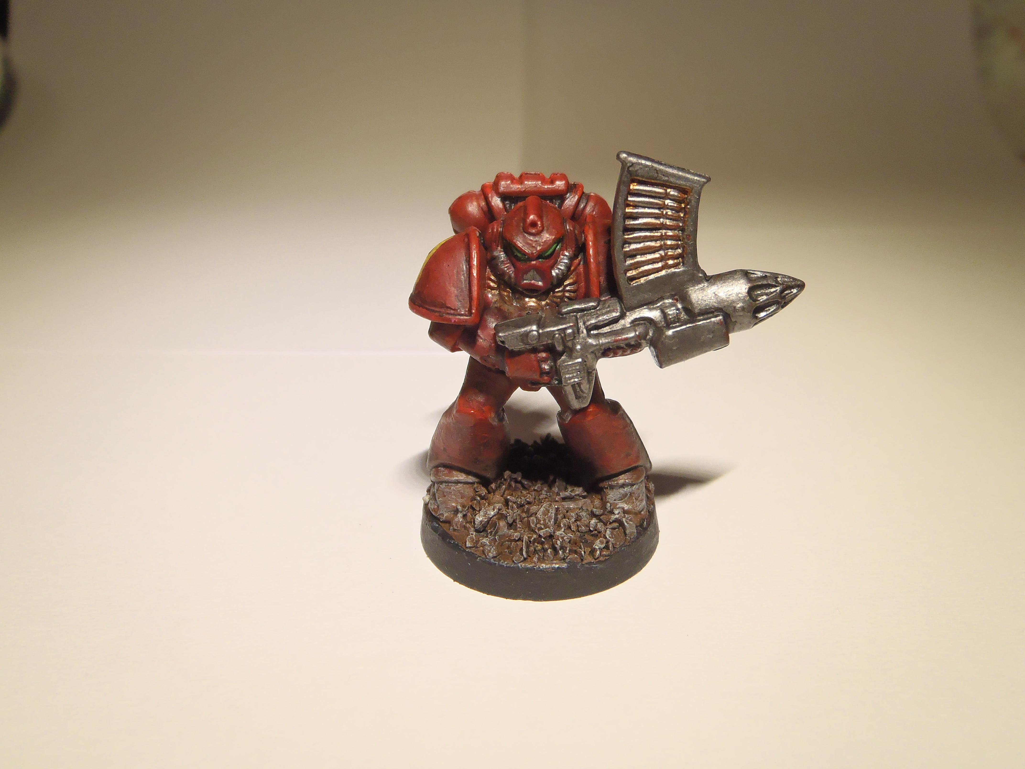 Blood Angels, Missile Launcher, Space Crusade