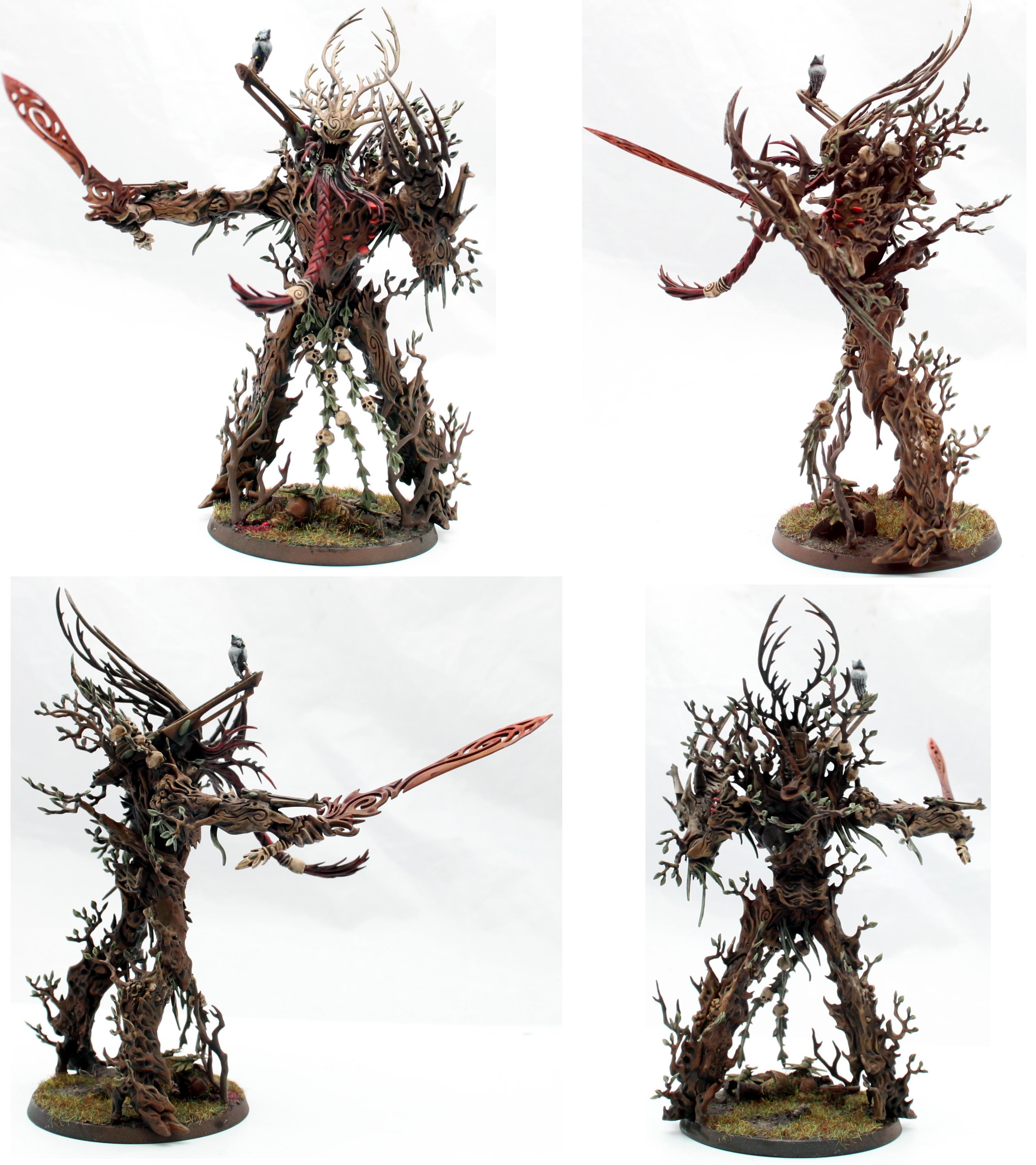 Eldar, Exodites, Treeman, Wraithlord