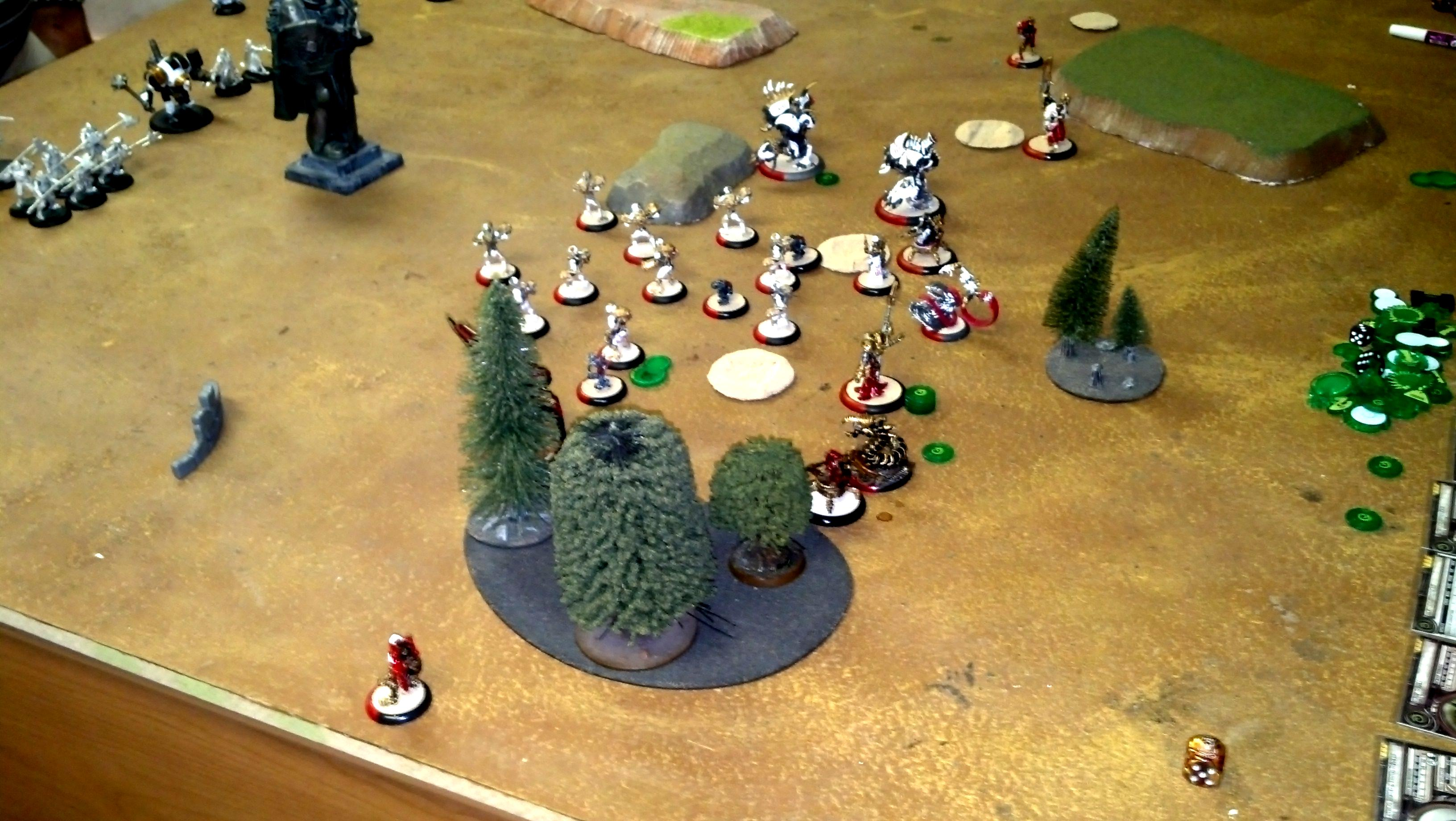 Battle Report, Hordes, Privateer Press, Warmachine