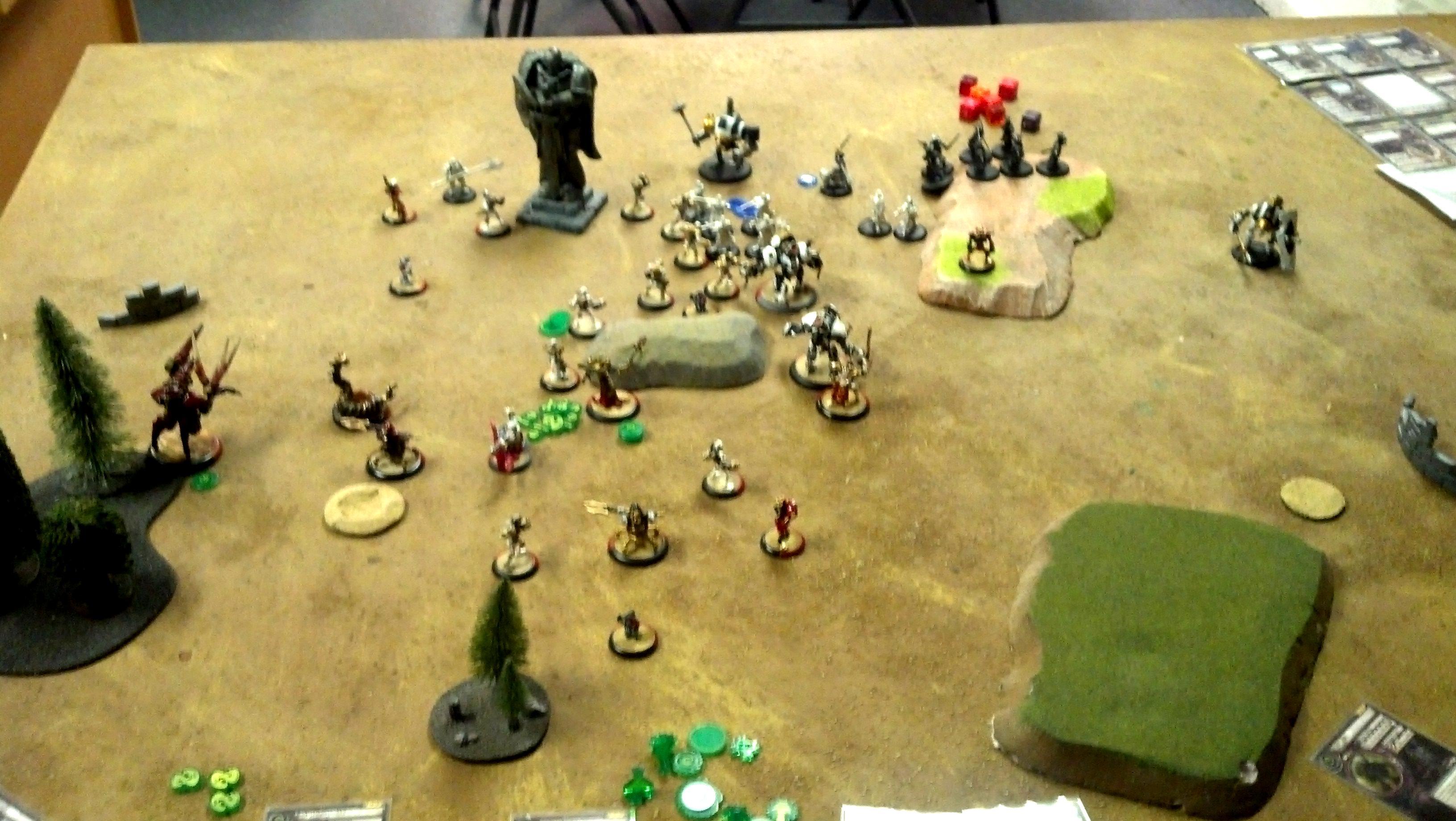 Battle Report, Hordes, Privateer Press, Warmachine