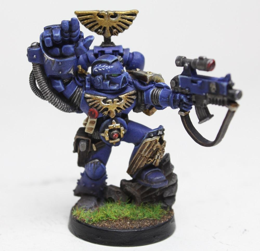 Captain, Cato Sicarius, Sicarius, Space Marines, Sternguard, Ultramarines, Veteran, Warhammer 40,000