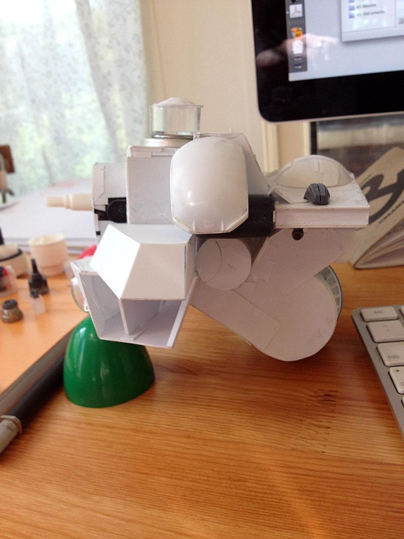 Plasticard, Scratch Build, Stormraven