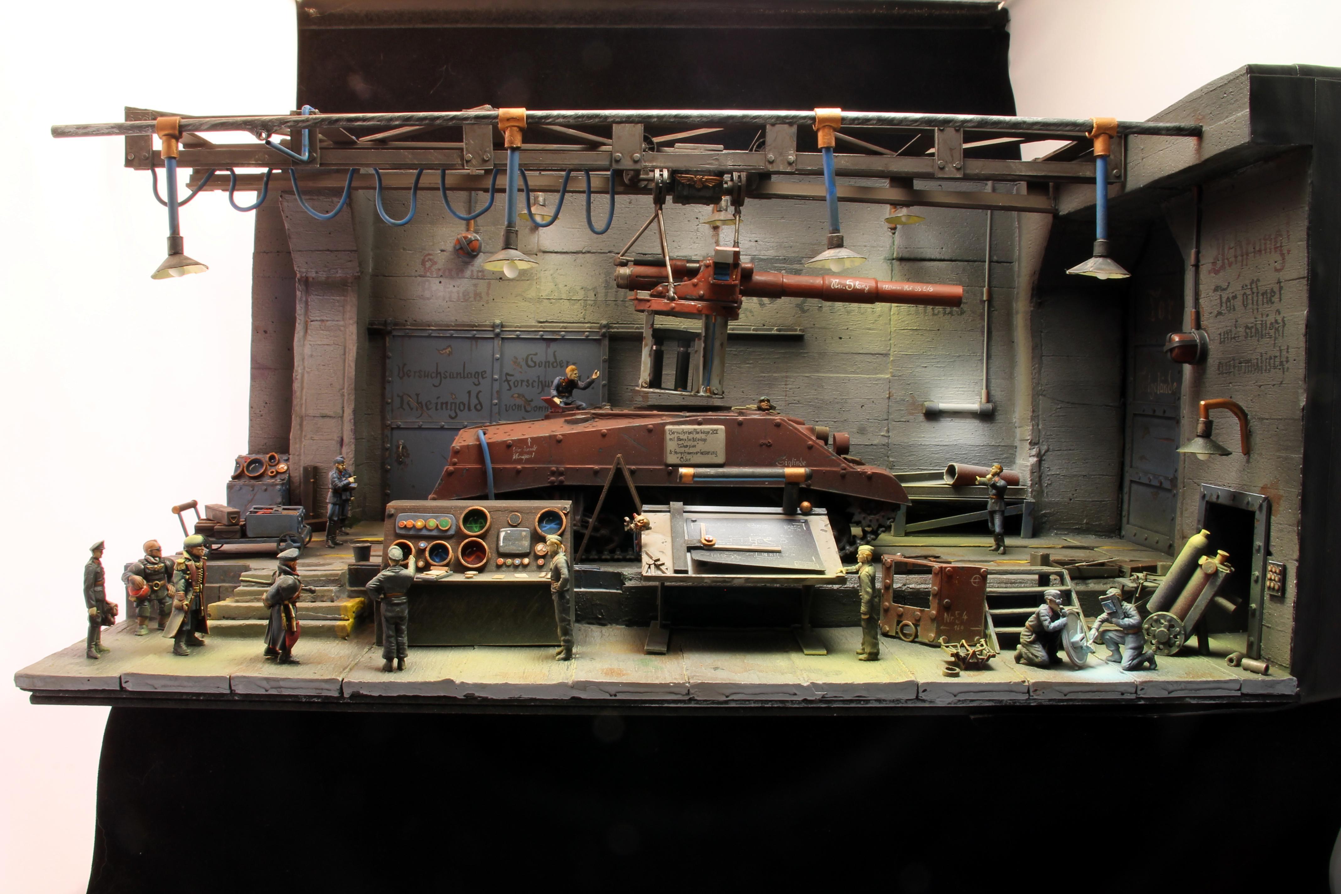 Factory, Germans, Tank, World War 2