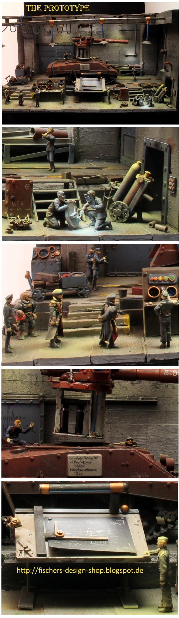 Civilian, Diorama, Factory, Imperial Guard