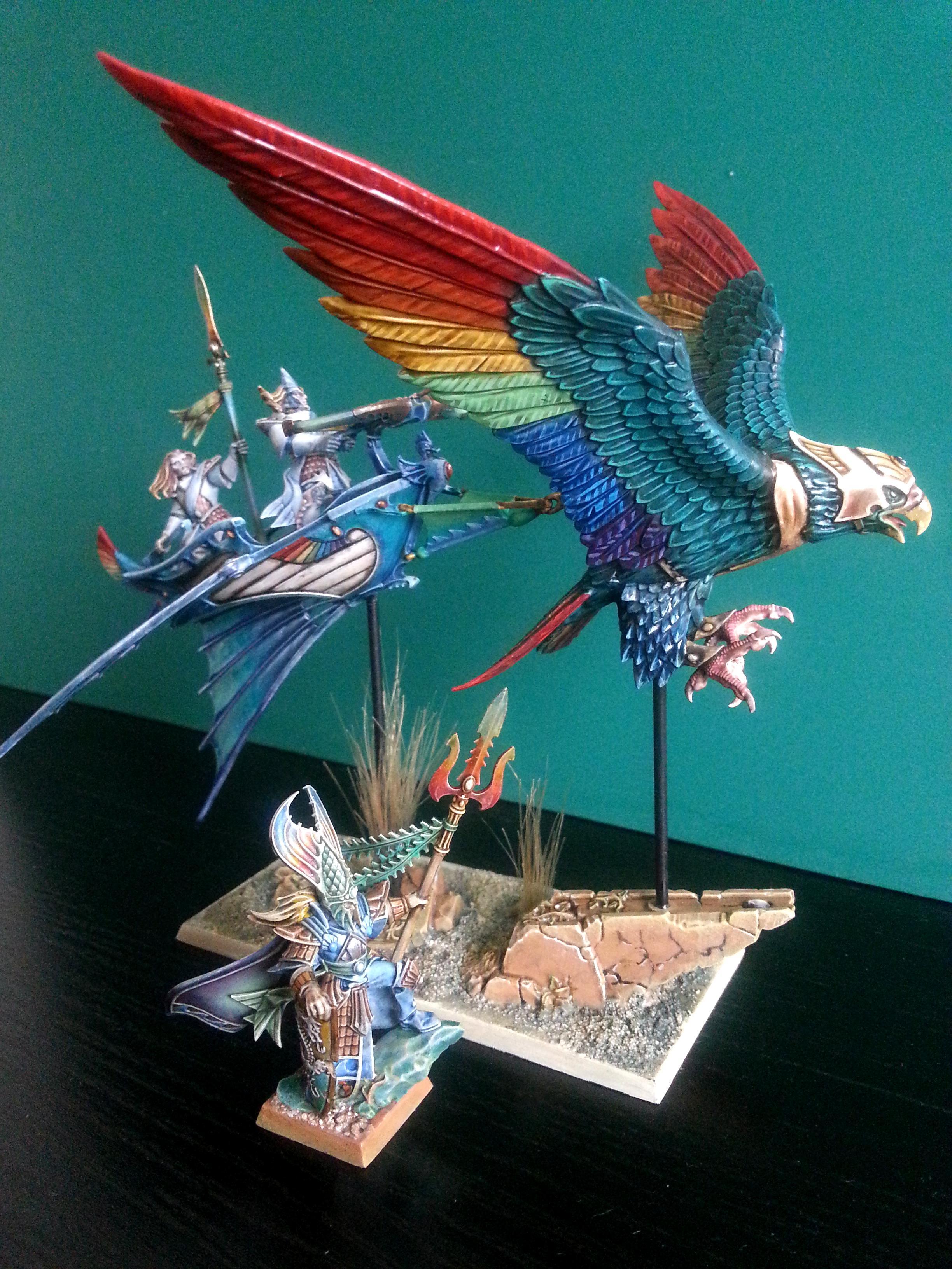 Eagle, Elves, High Elves, Rainbow, Skycutter
