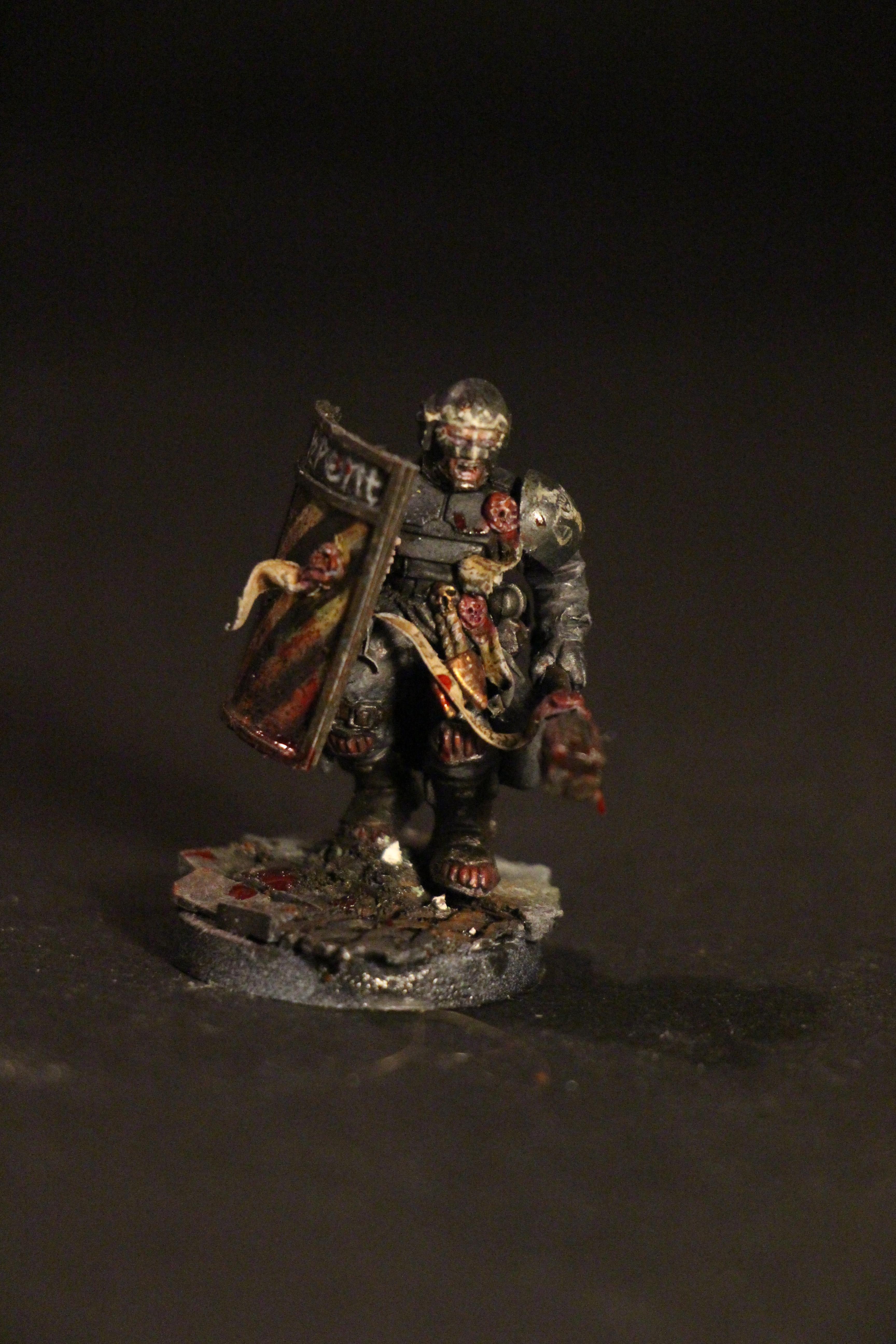 Adeptus Arbites, Dark Heresy, Grimdark, Judge, Riot Shield