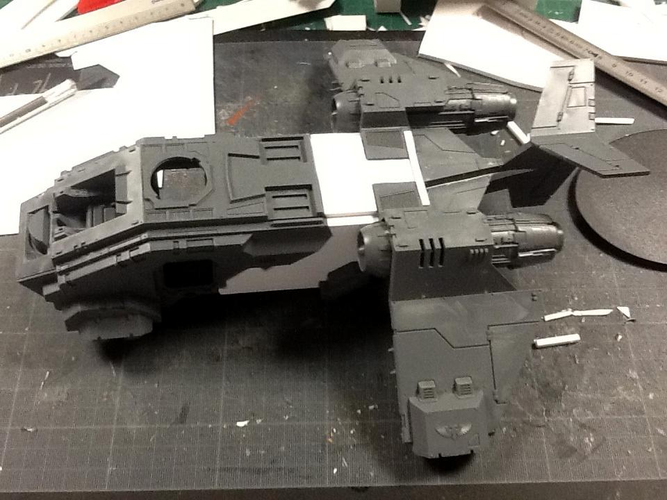 Attempt at a true scale stormraven