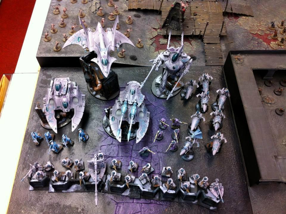 1500, Eldar, Fire Prism, Warhammer 40,000, Wraithknight