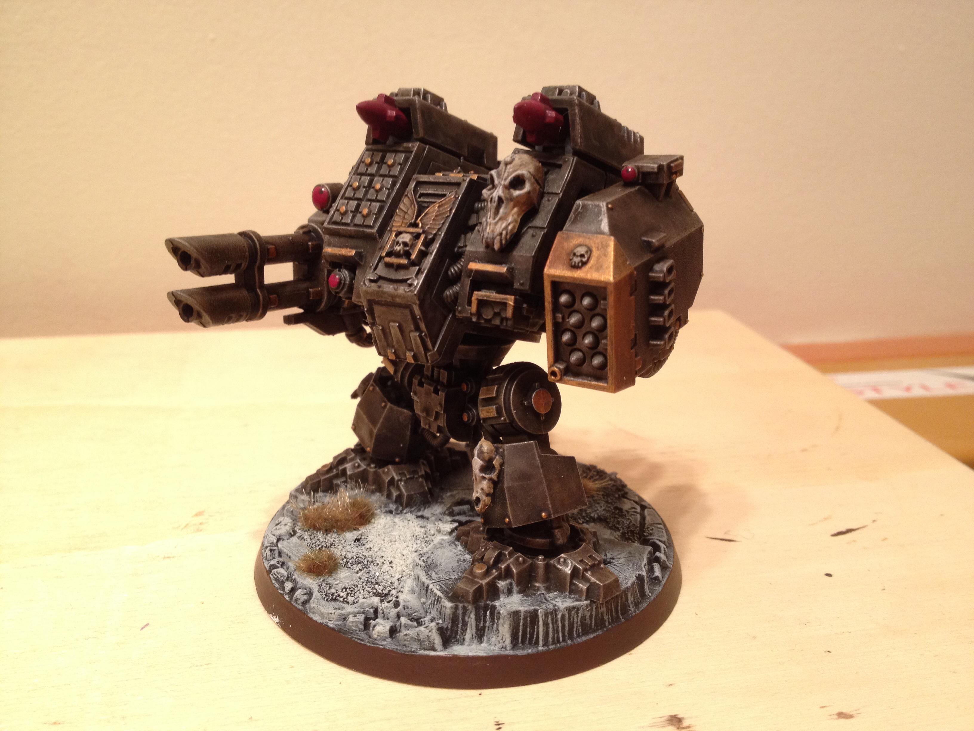Dreadnought, Ironclad, Space Wolves, Venerable