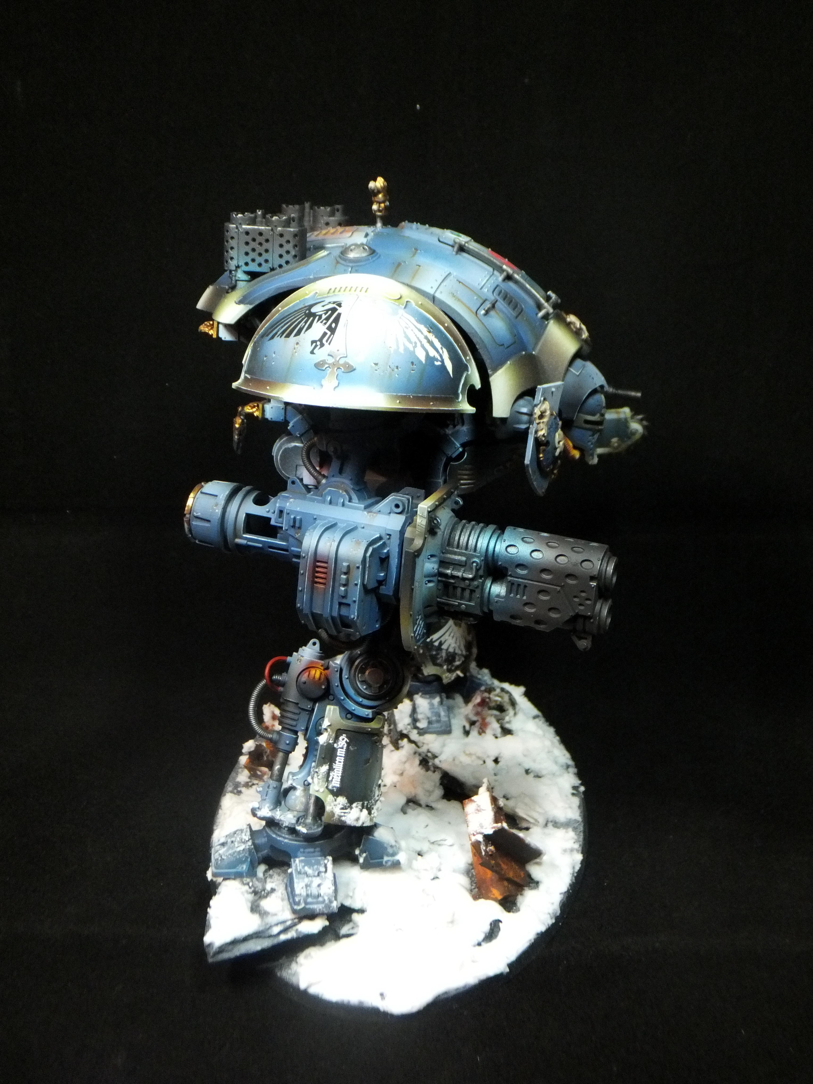 Blue, Game, Gold, Imperial, Knighr, Non-Metallic Metal, Snow, Space Wolves, Workshop