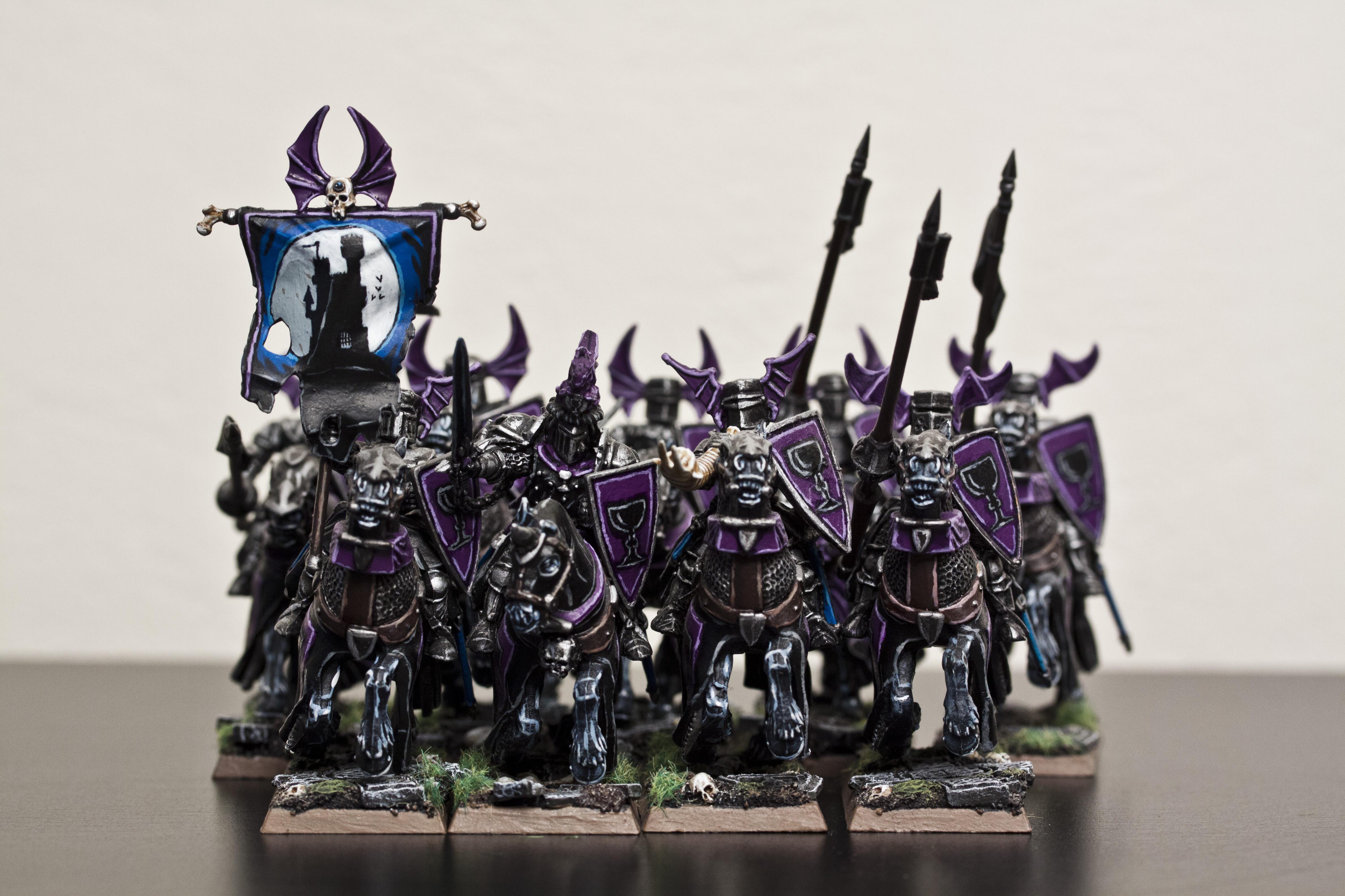Black Knights, Vampire Counts, Warhammer Fantasy