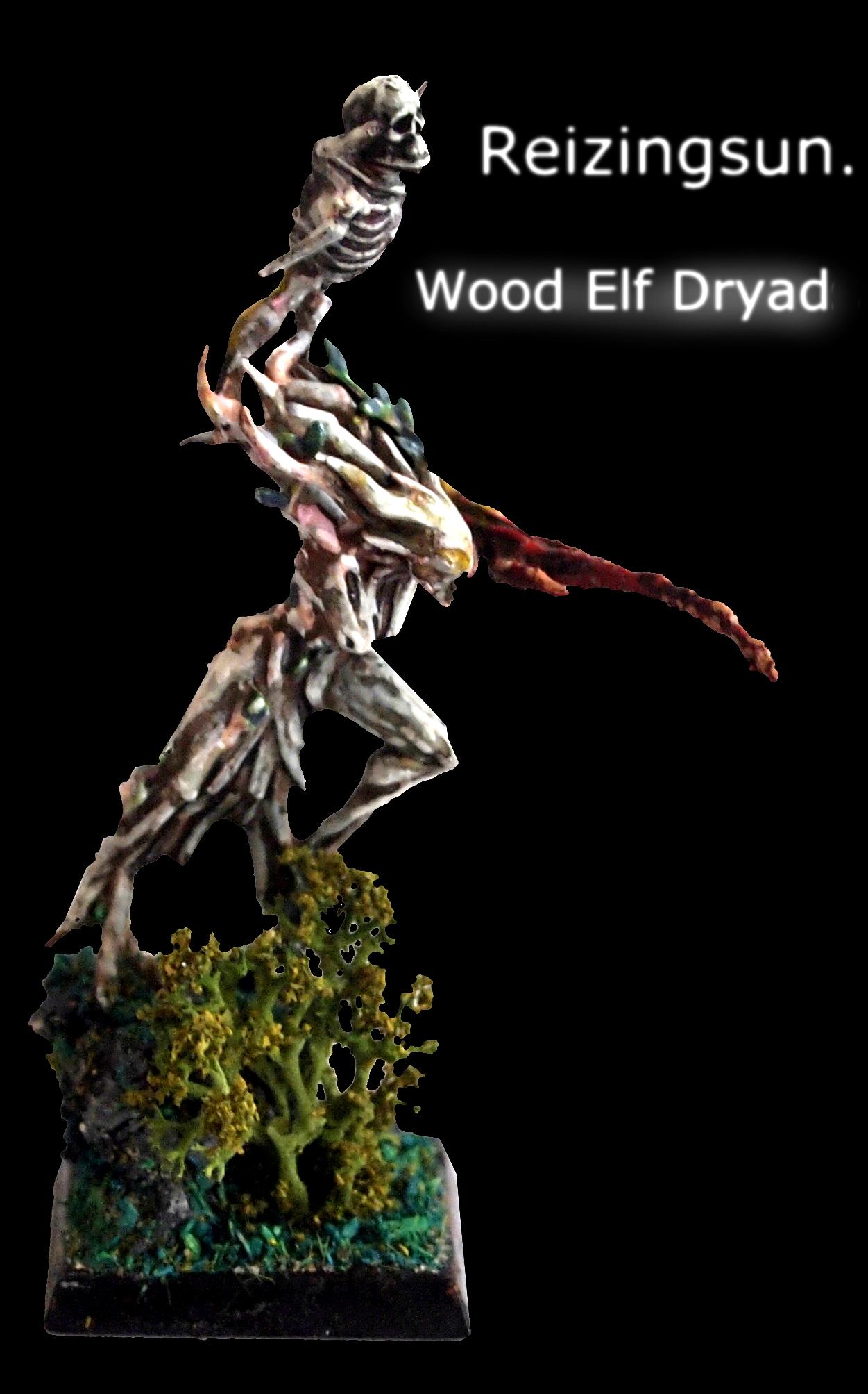 Dryad, Elves, Wood, wood elf dryad