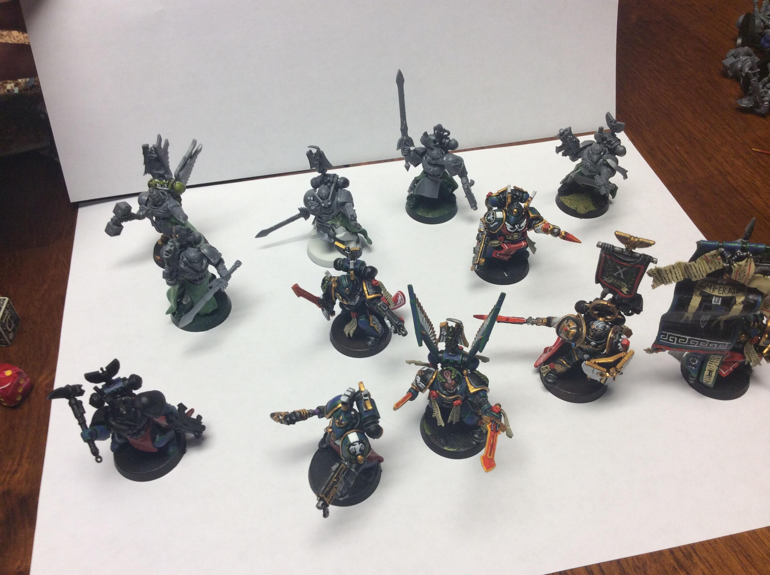 Do-it-yourself, Honor Guard, Space Marines