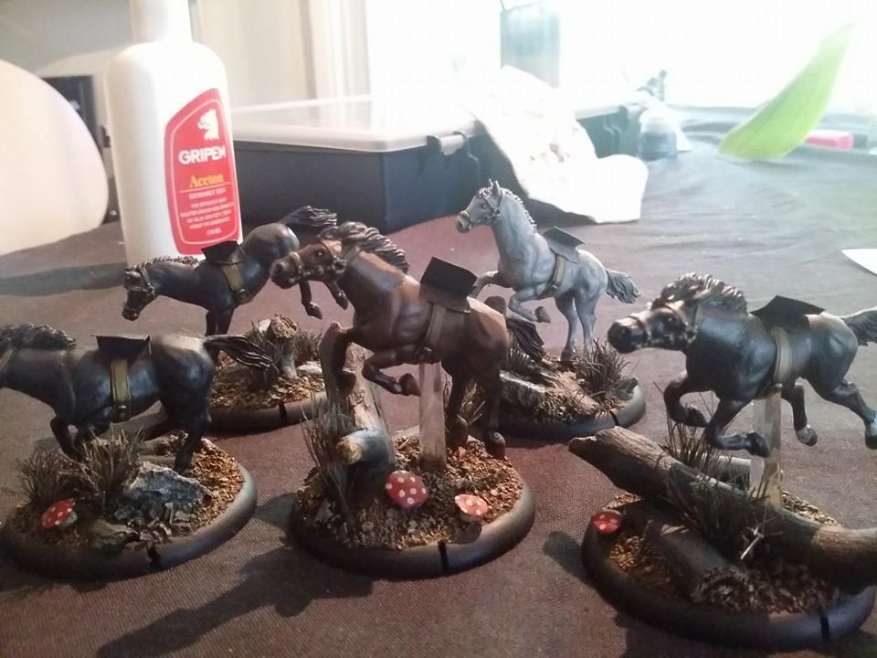 Tempest Blazers Horses on flightbases