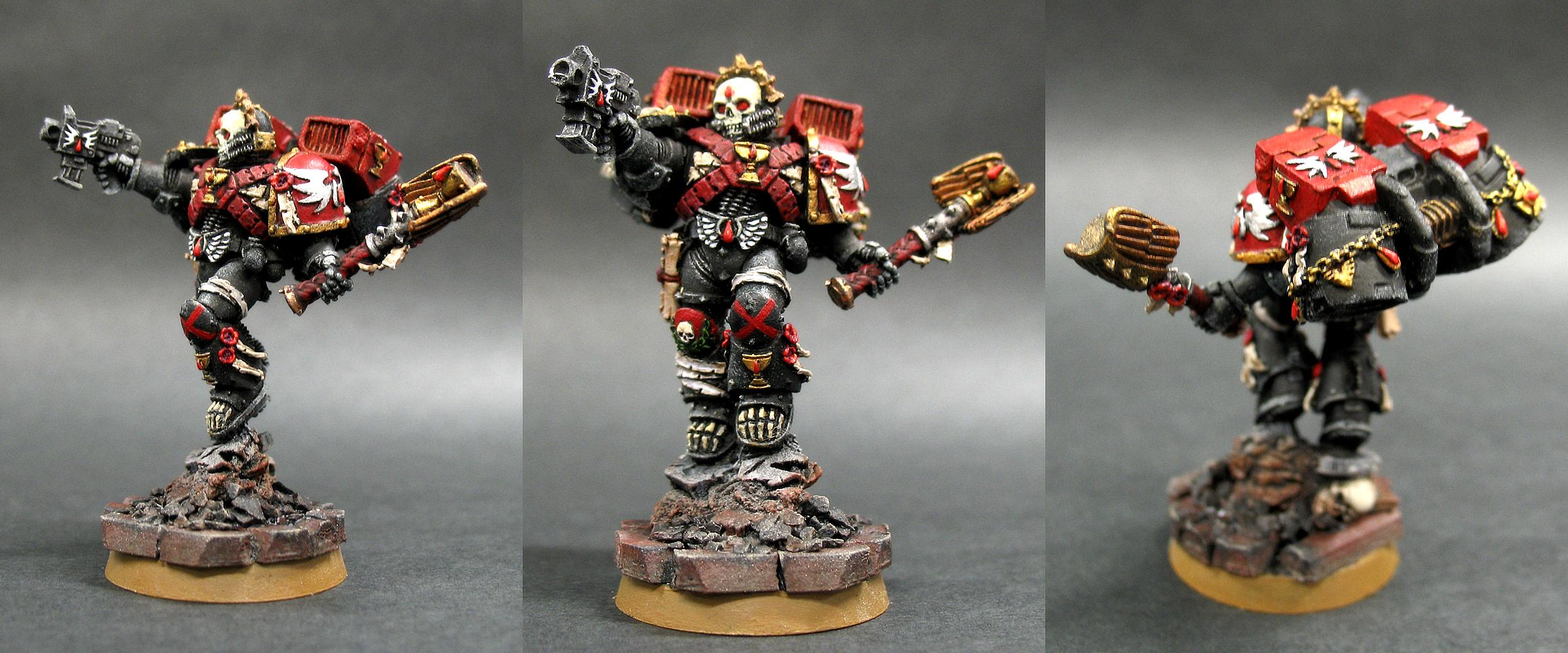 Blood Angels, Chaplain, Guardian Of The Lost, Lemartes