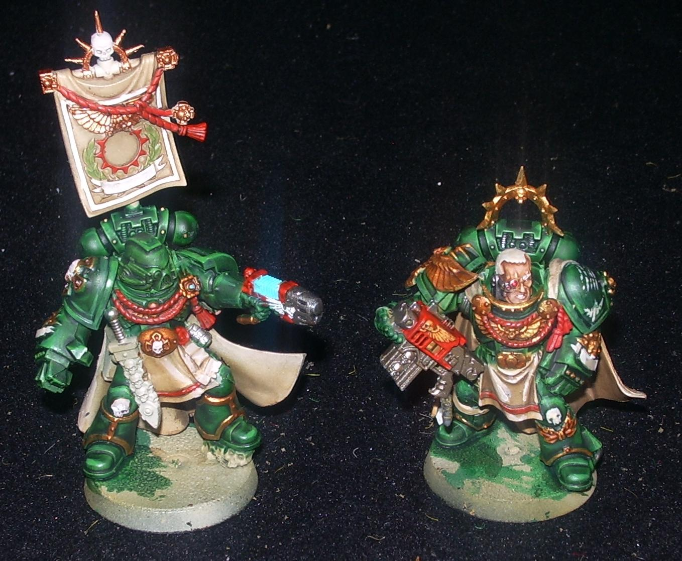 Captain, Dark Angels, Headquarters, Limited Edition, Space Marines